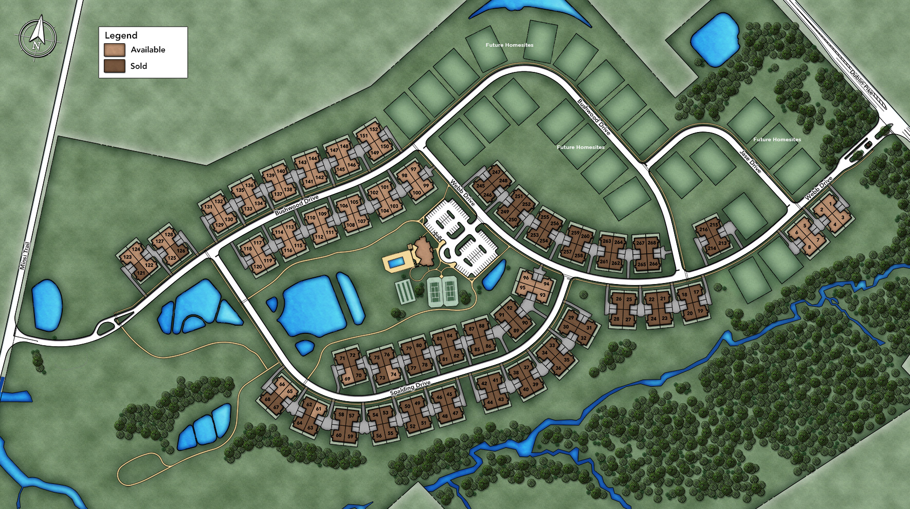 Regency at Hilltown Site Plan