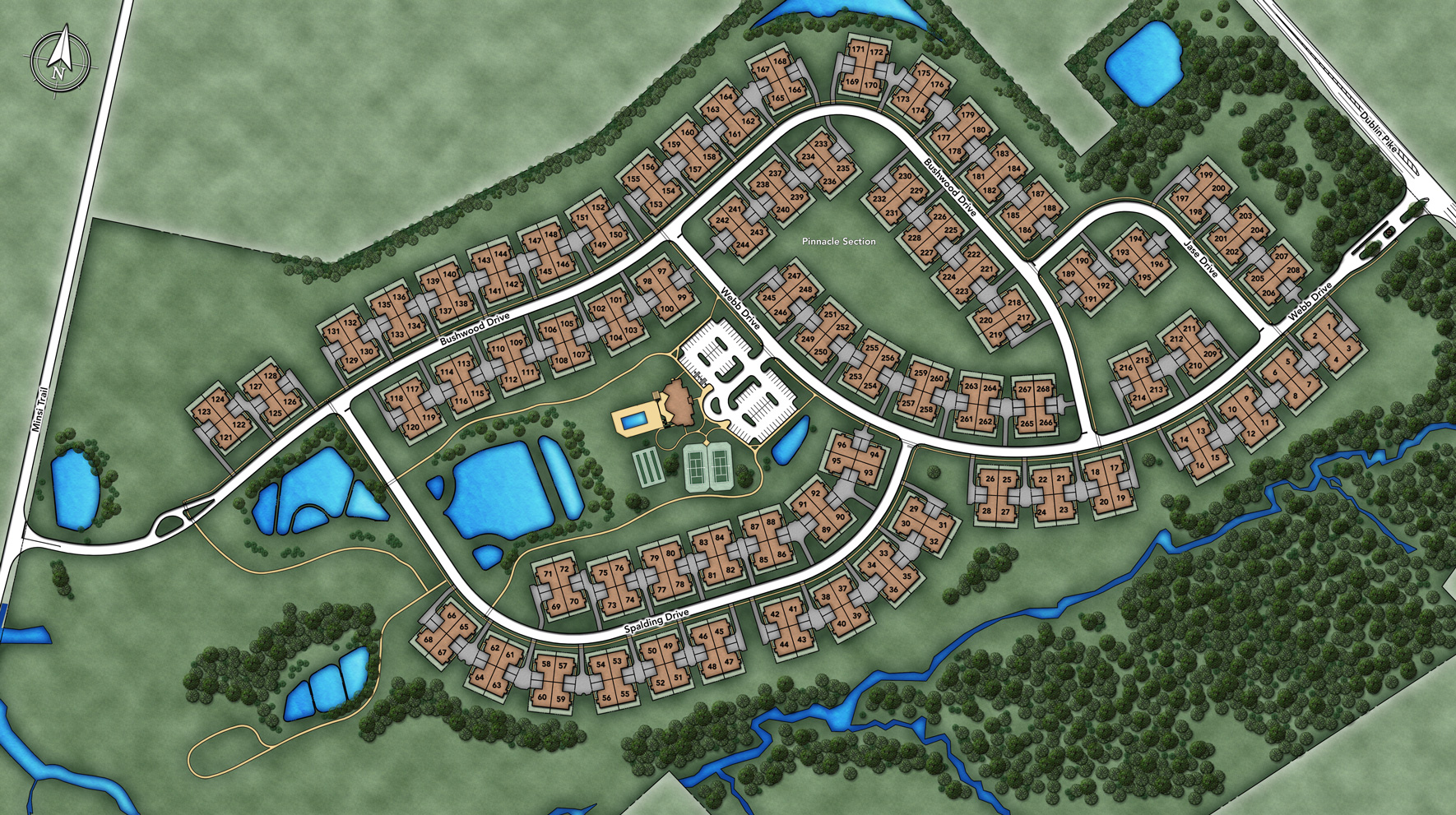 Regency at Hilltown Overall Site Plan