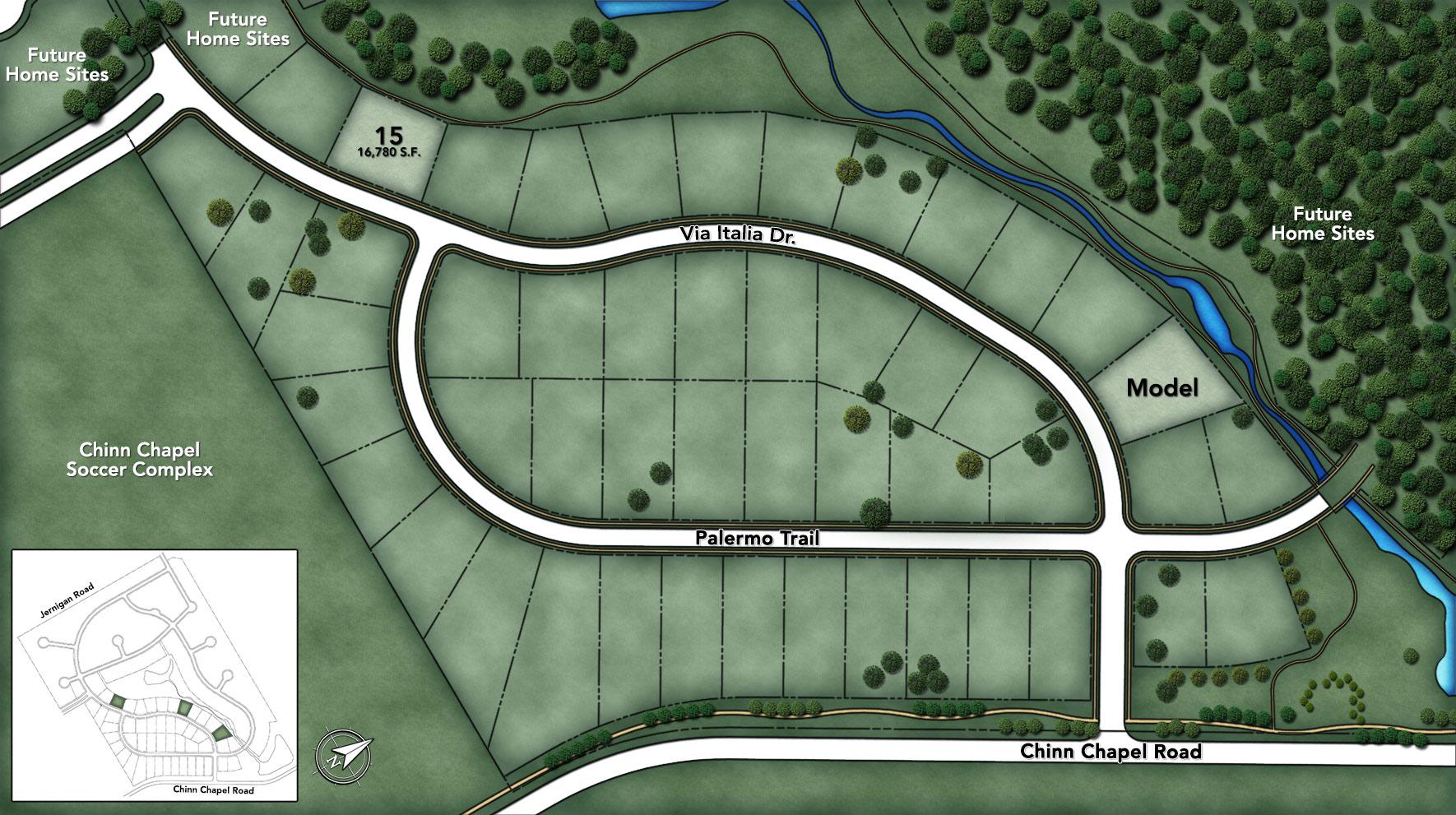 Terracina Phase I Site Plan