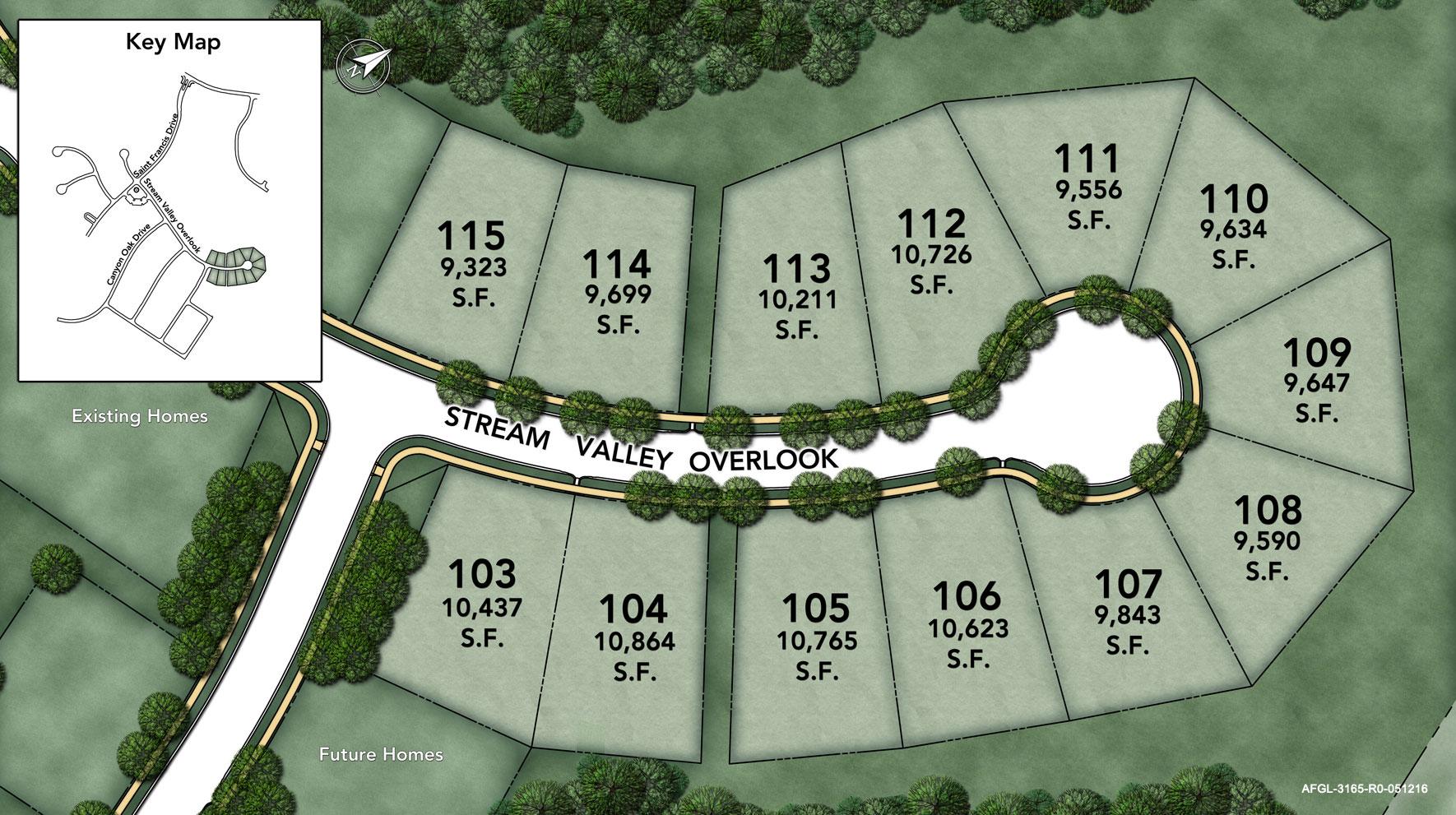 Arundel Forest - The Glen Site Plan I