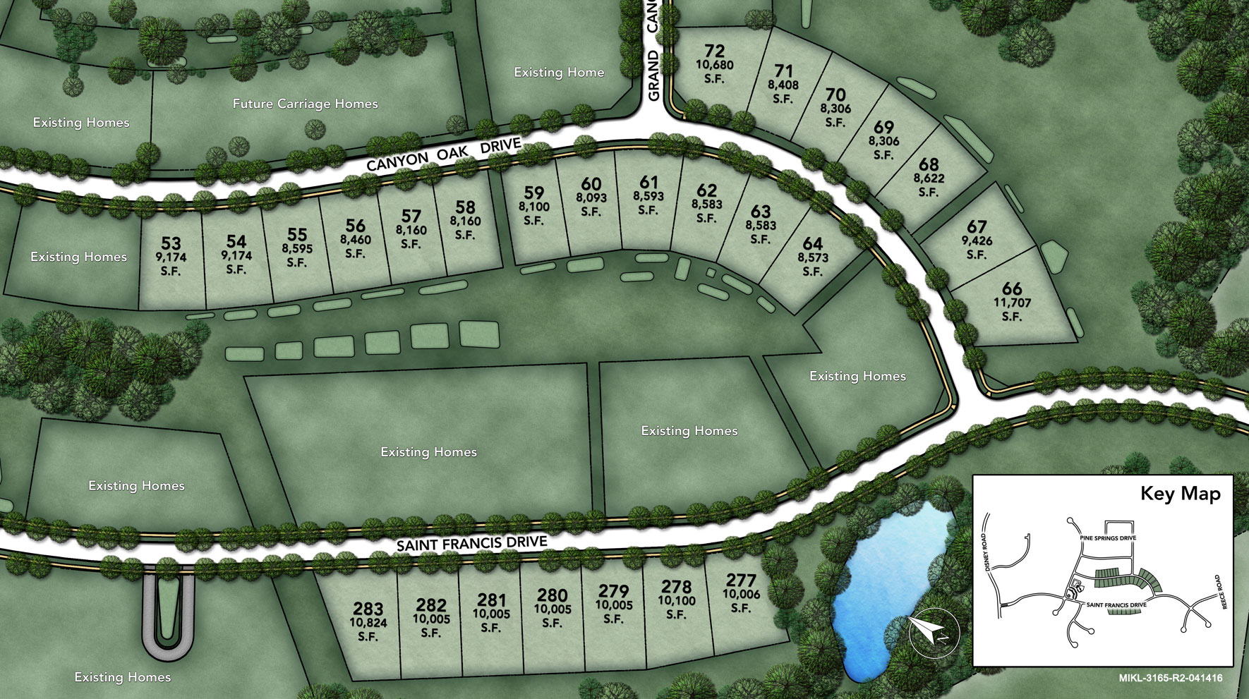 Arundel Forest - The Glen Site Plan II