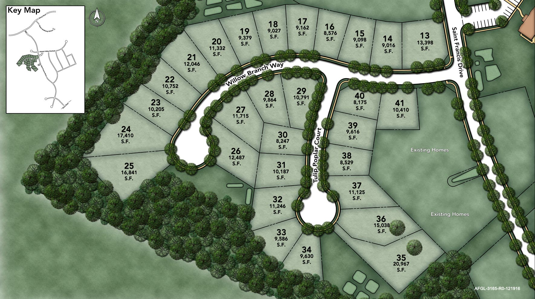 Arundel Forest - The Glen Site Plan III
