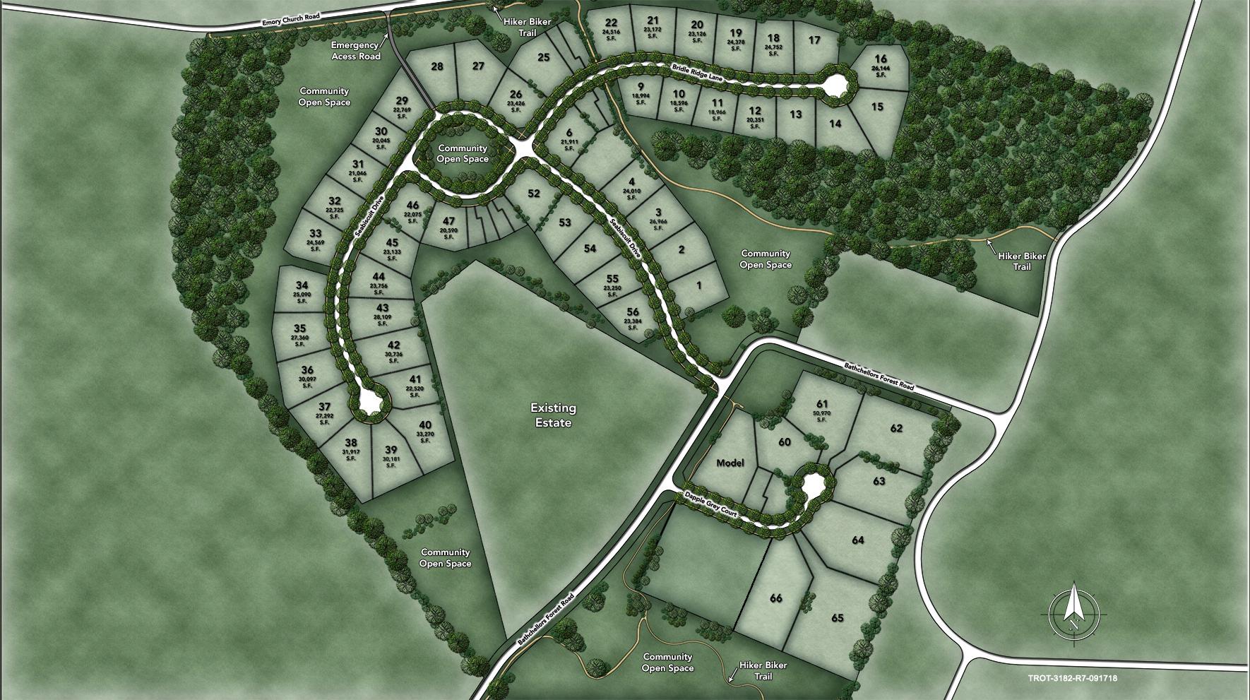 Trotters Glen Site Plan