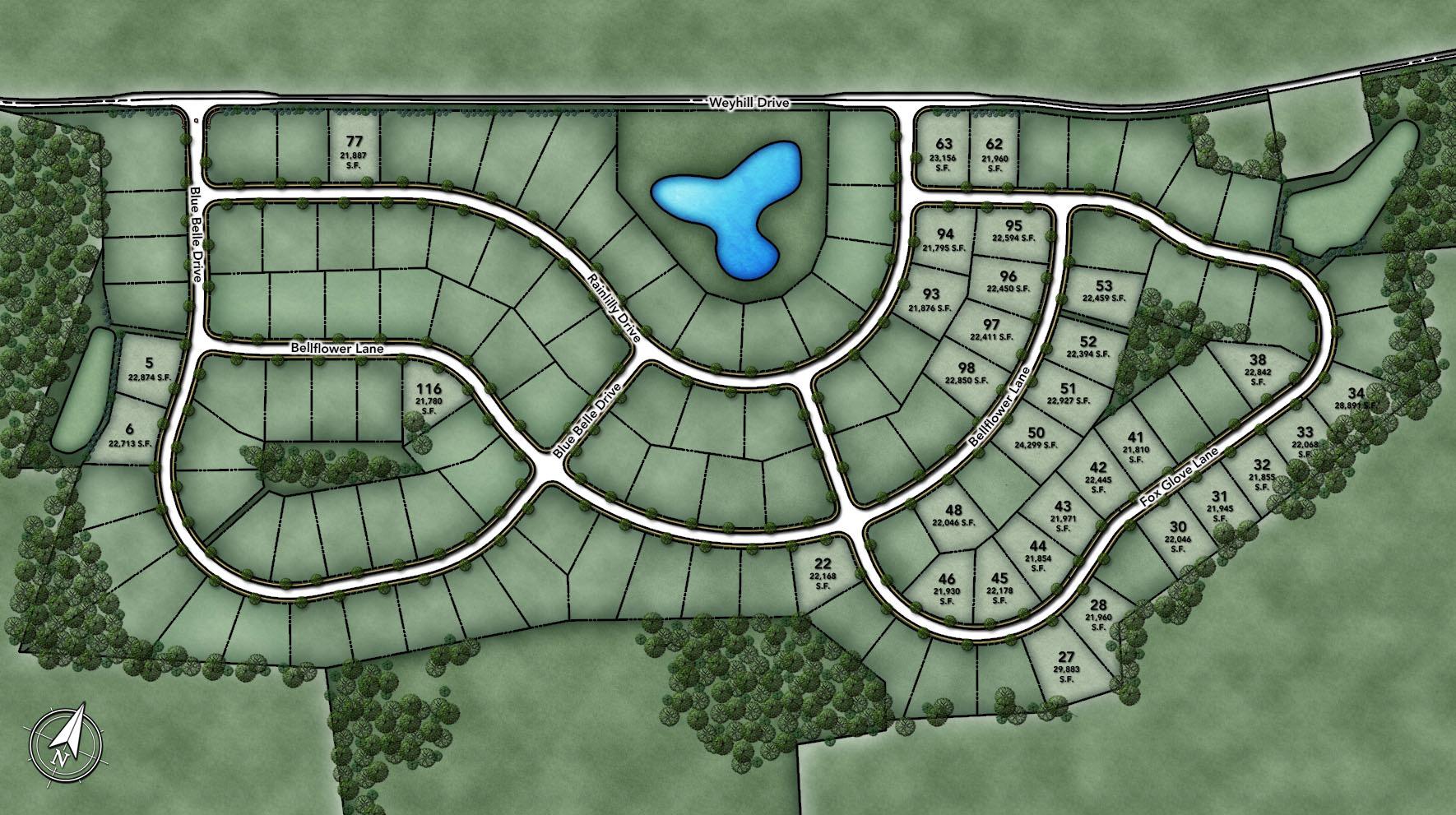 Weyhill Estates at Upper Saucon Site Plan