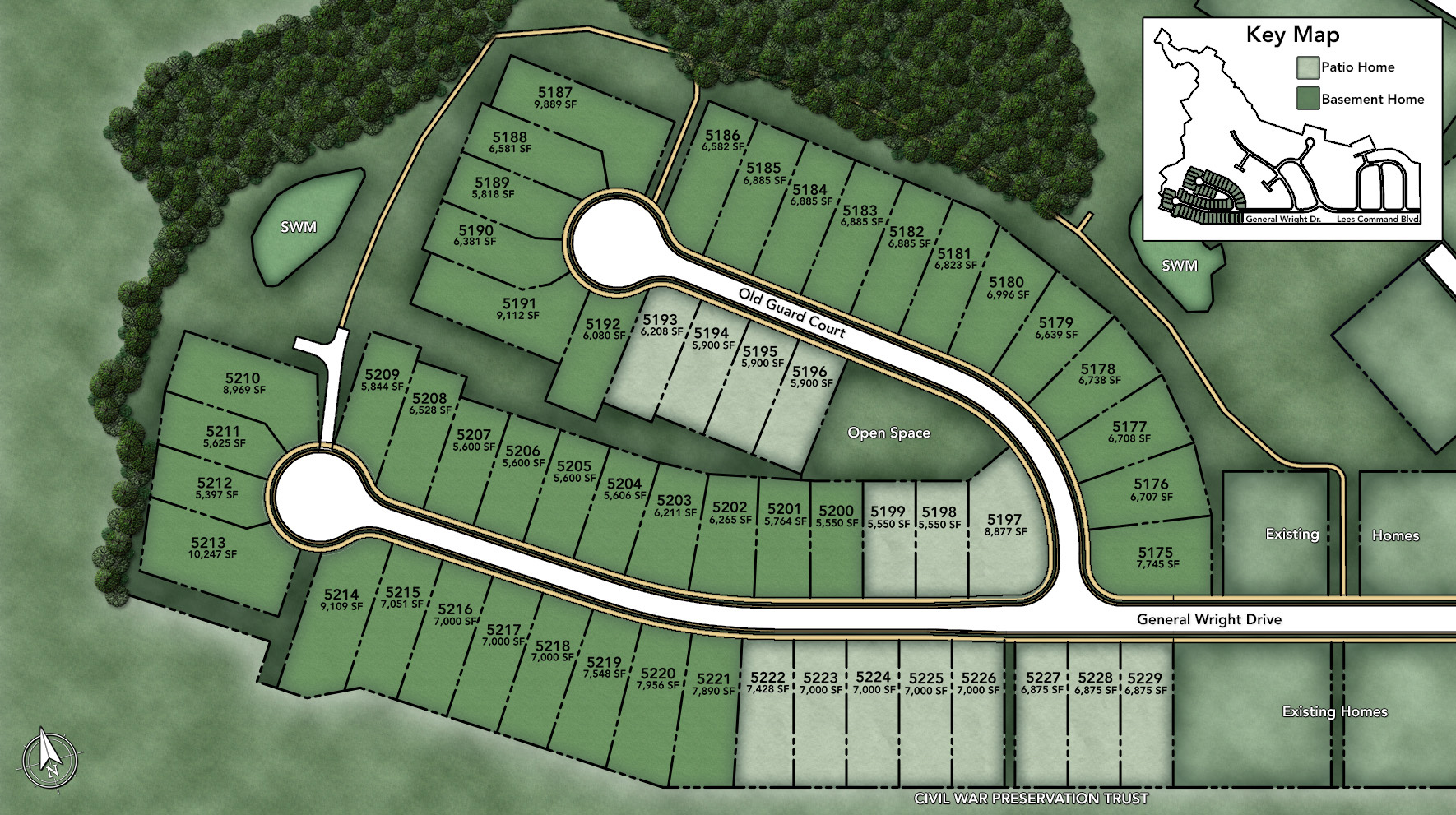 Regency at Chancellorsville Site Plan I