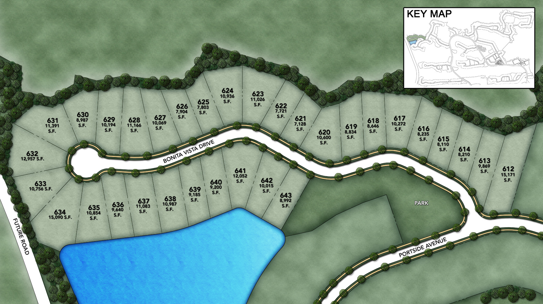 Coastal Oaks at Nocatee - Heritage Collection Bonita Vista Site Plan