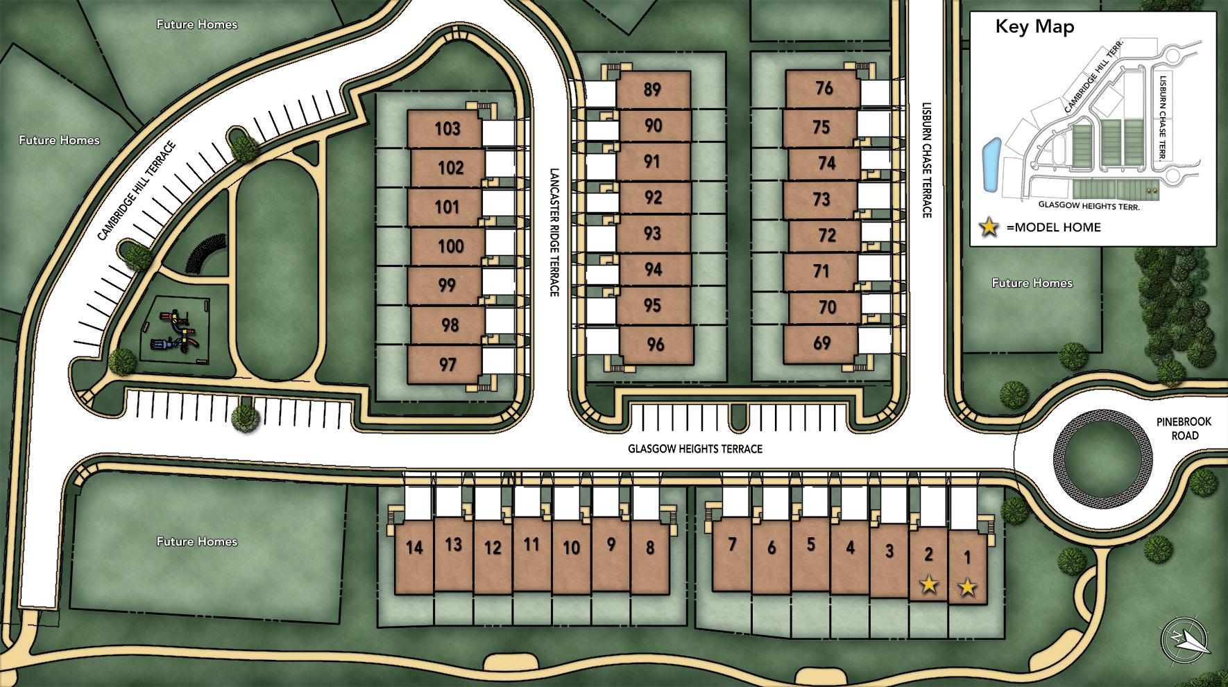 Avonlea Reserve Site Plan I