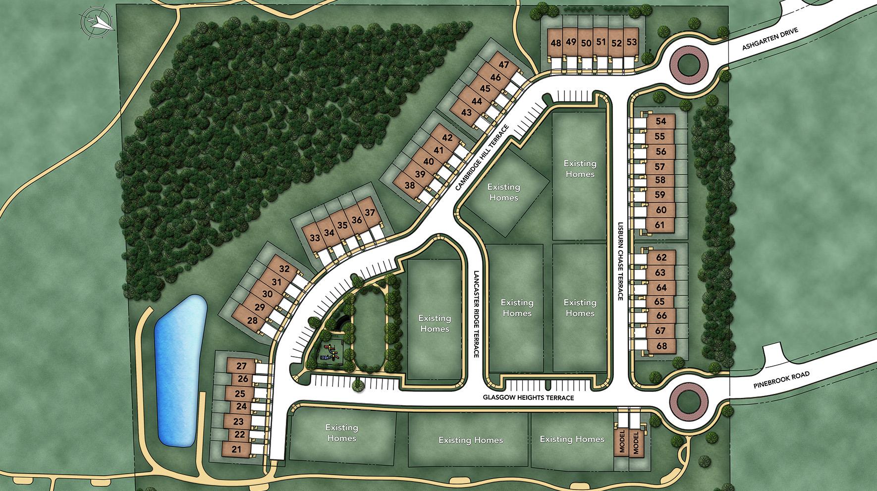 Avonlea Reserve Site Plan II