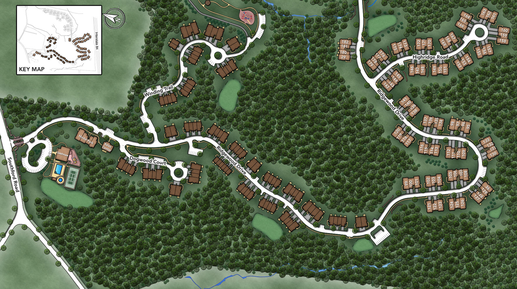Ridgewood at Middlebury Ridgewood Drive Site Plan