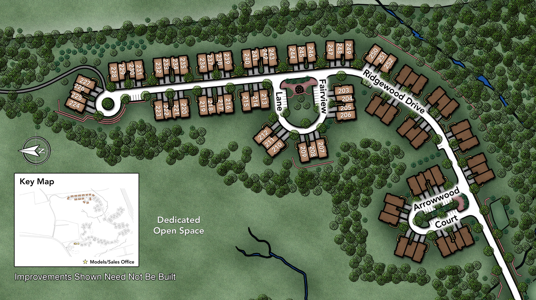 Ridgewood at Middlebury Site Plan