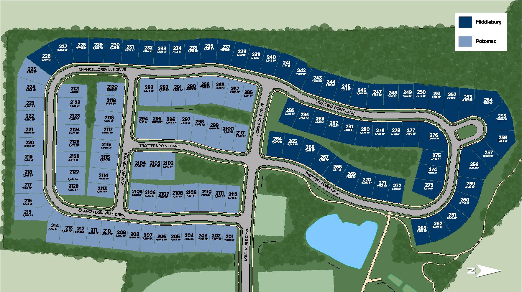Regency at Creekside - Potomac Site Plan II