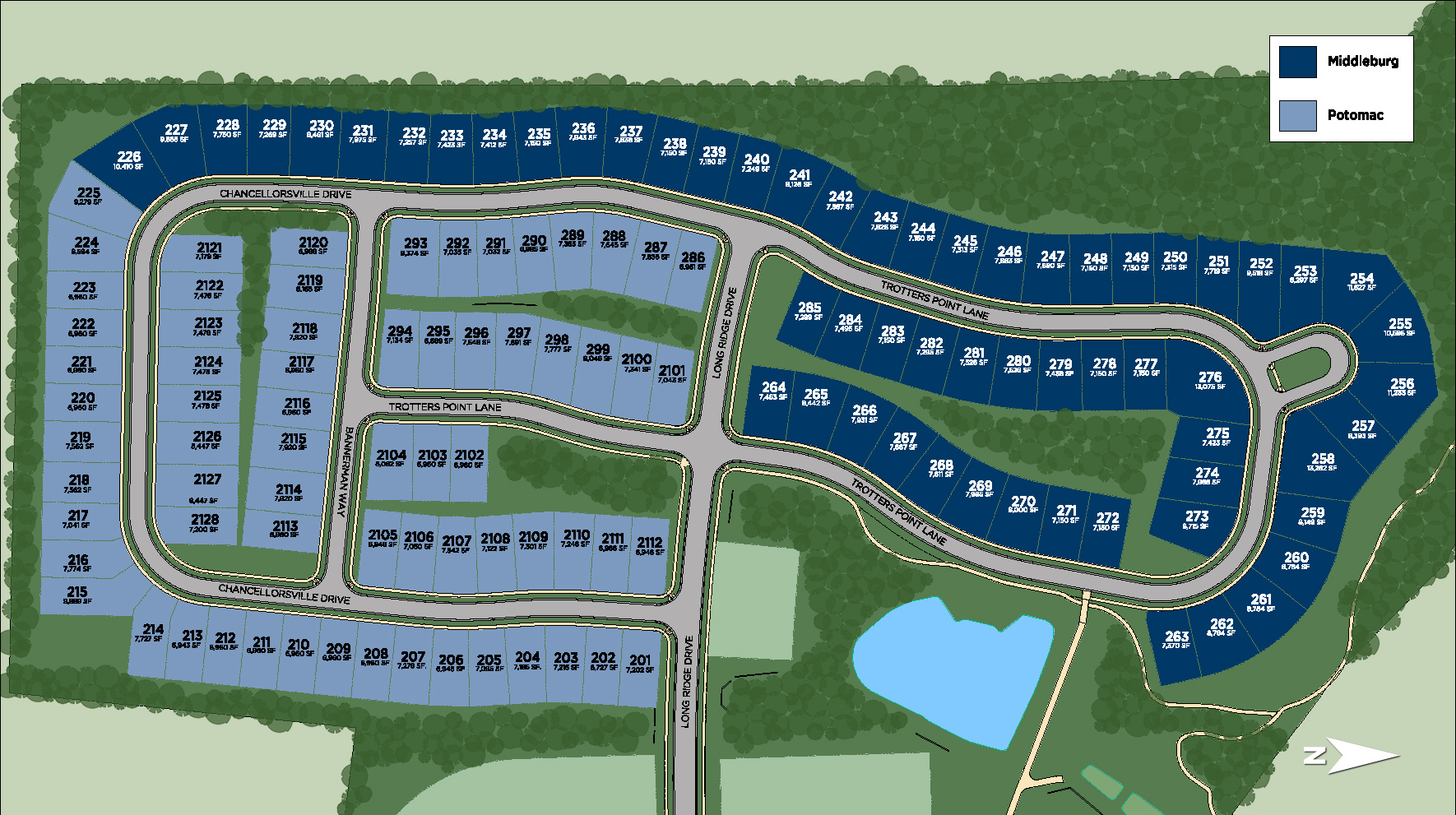 Regency at Creekside - Middleburg Site Plan II