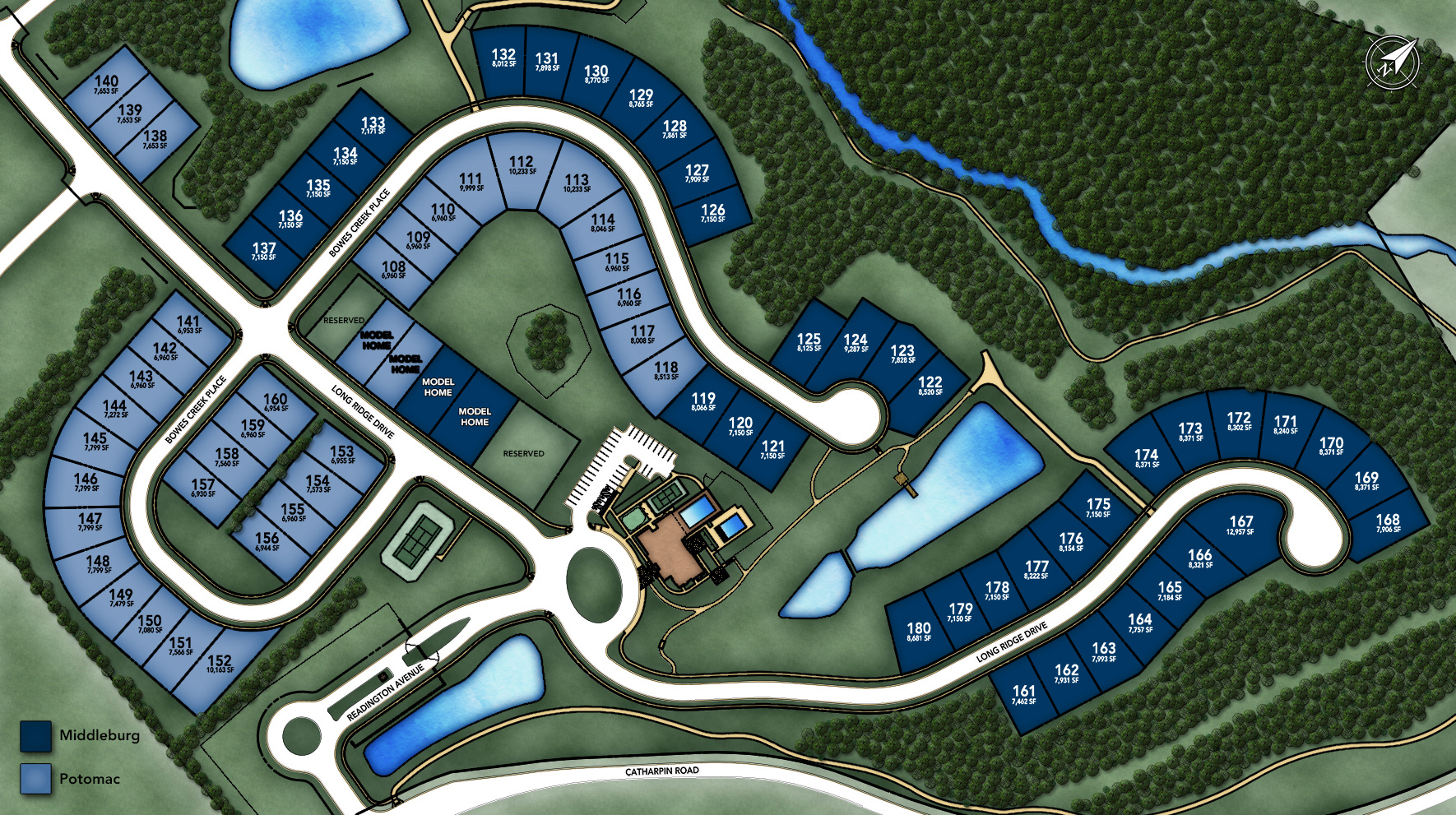 Regency at Creekside - Middleburg Site Plan I