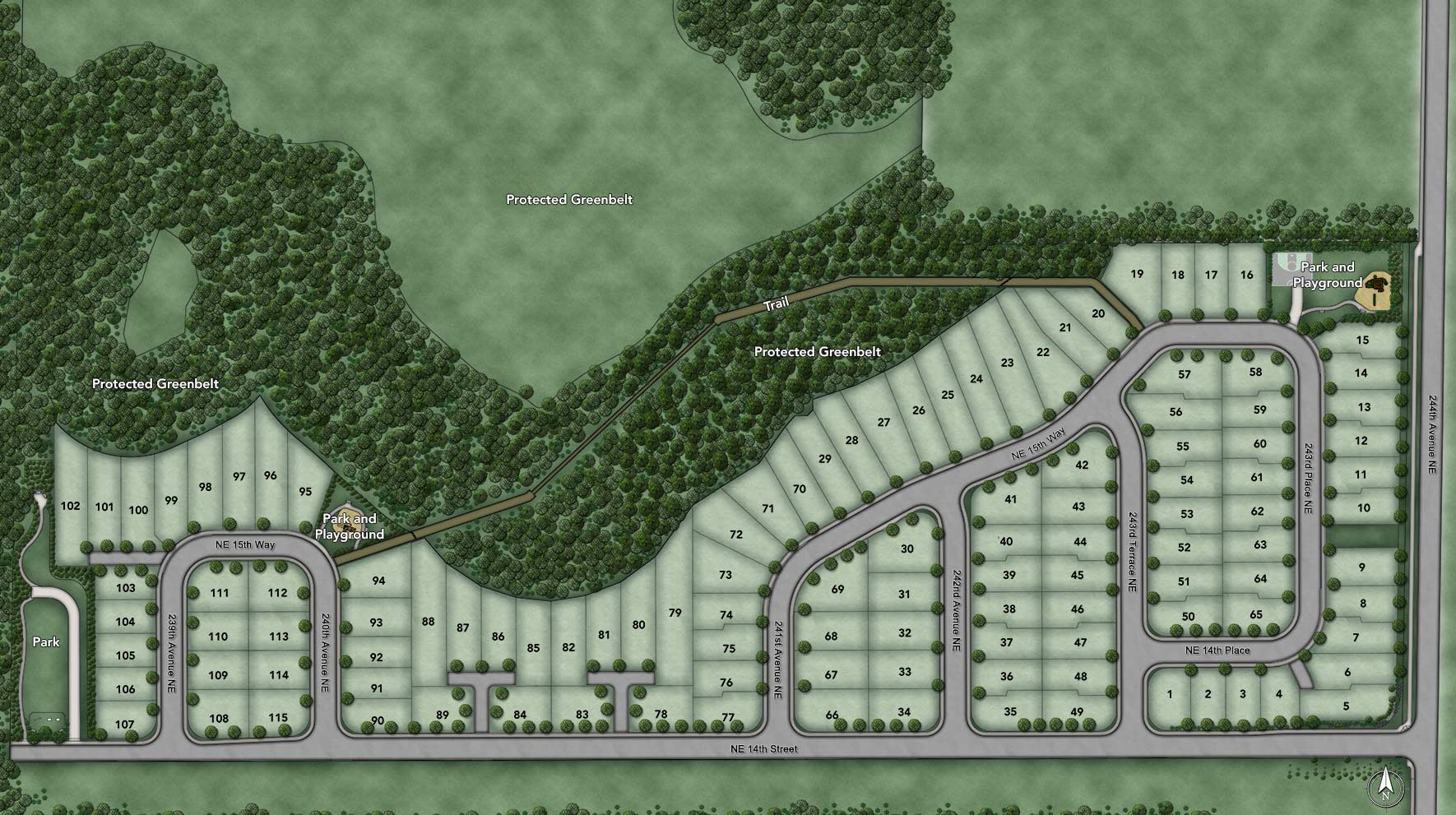 Canterbury Park Site Plan