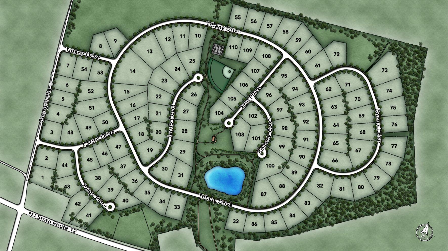 Mountain View at Hunterdon Site Plan