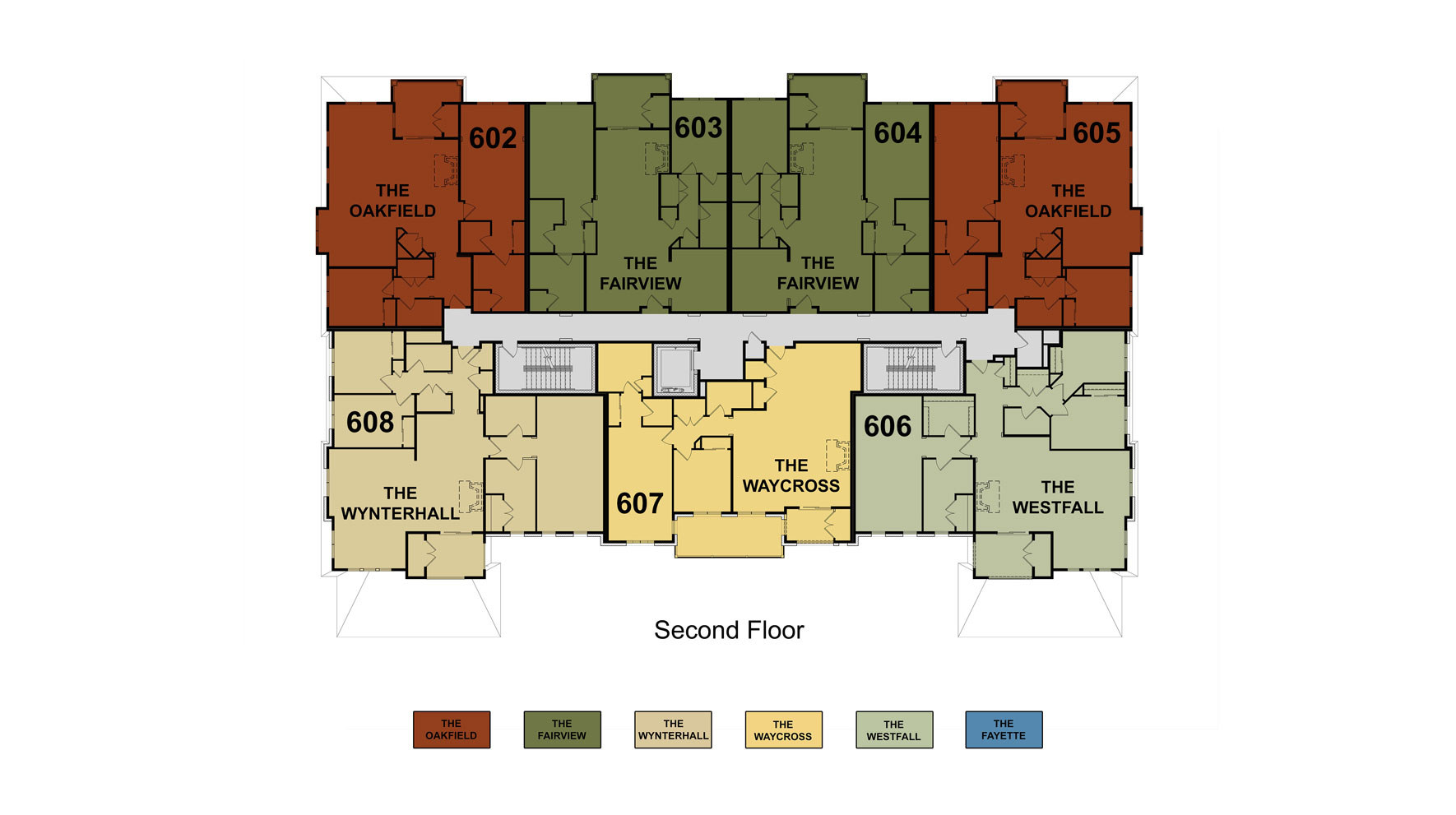 Building 6 Floor 2 Site Plan