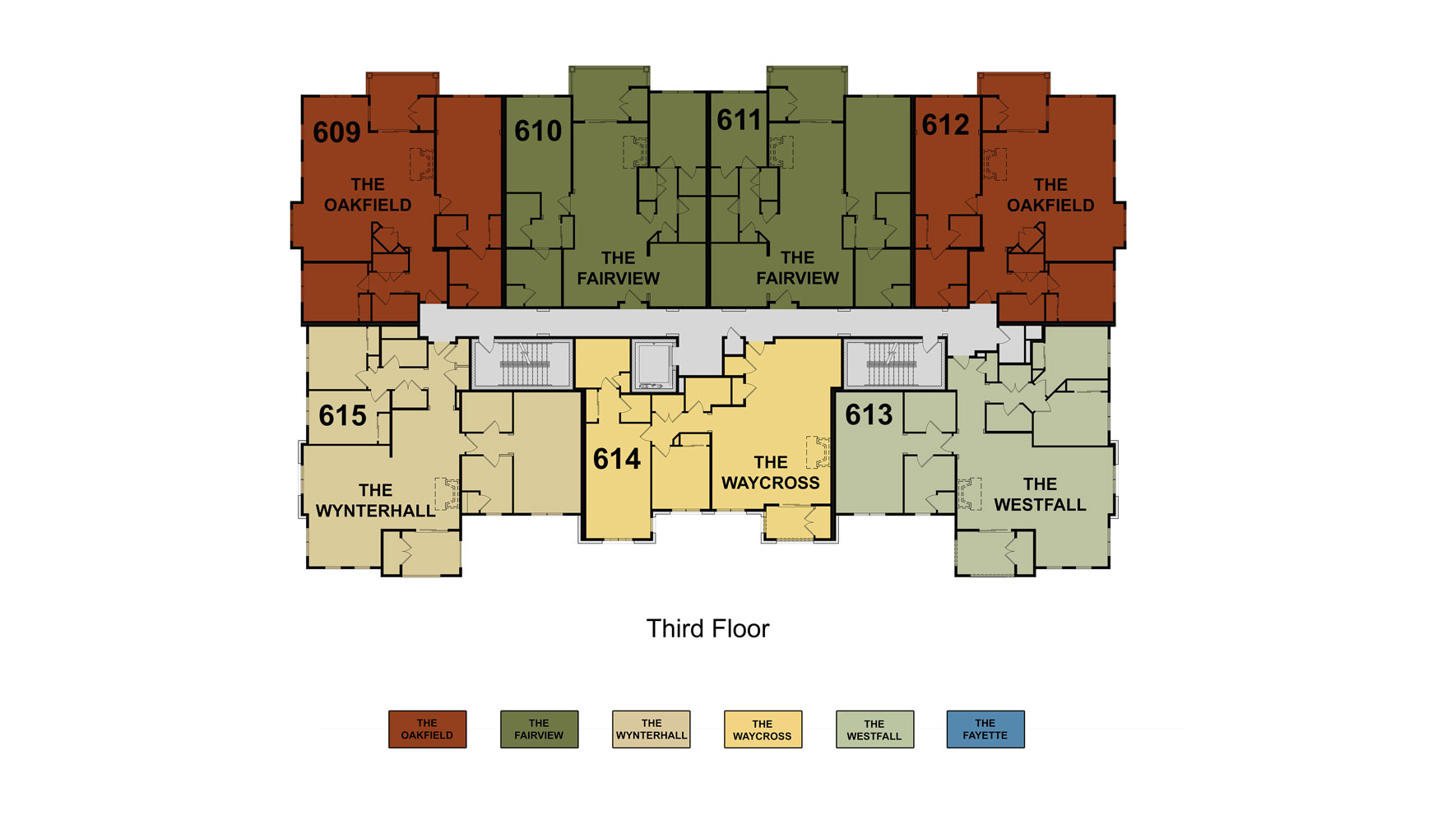 Building 6 Floor 3 Site Plan