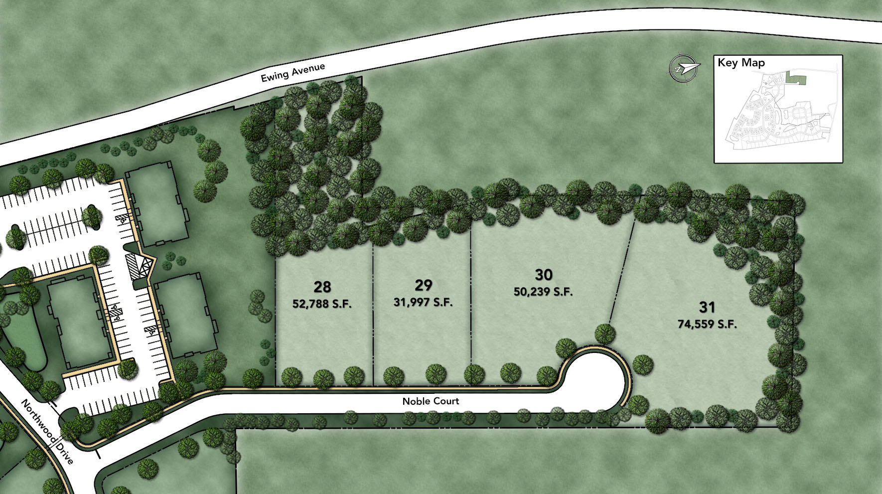 Reserve at Franklin Lakes - Signature Collection Noble Section Site Plan