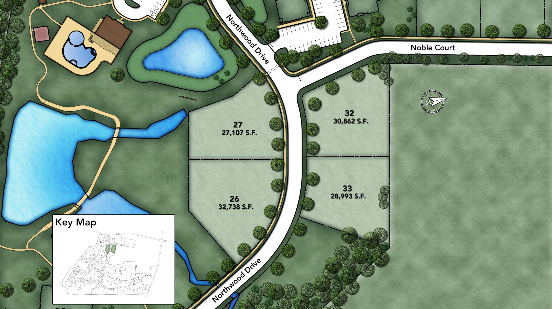 Reserve at Franklin Lakes - Signature Collection Northwood Section Site Plan