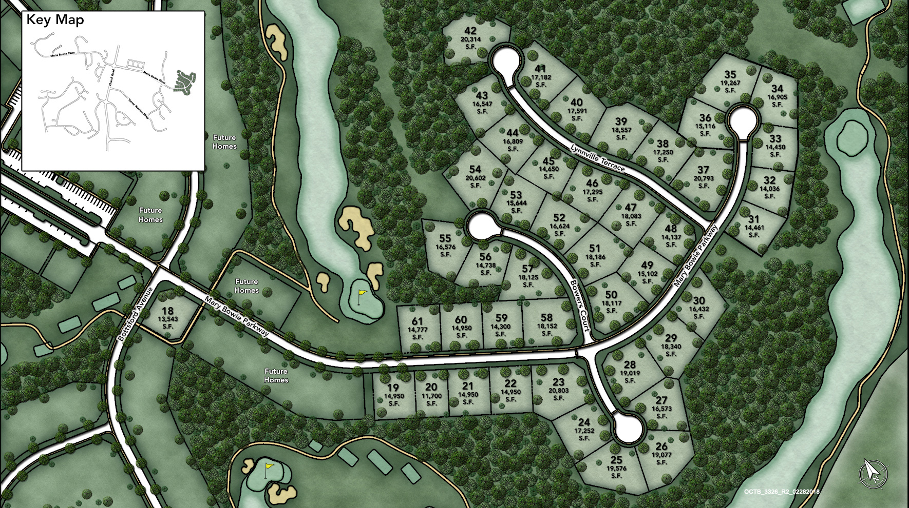 Toll Brothers at Oak Creek Site Plan