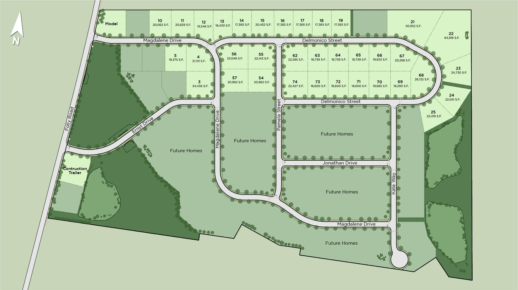 Parkview at Warrington Site Plan