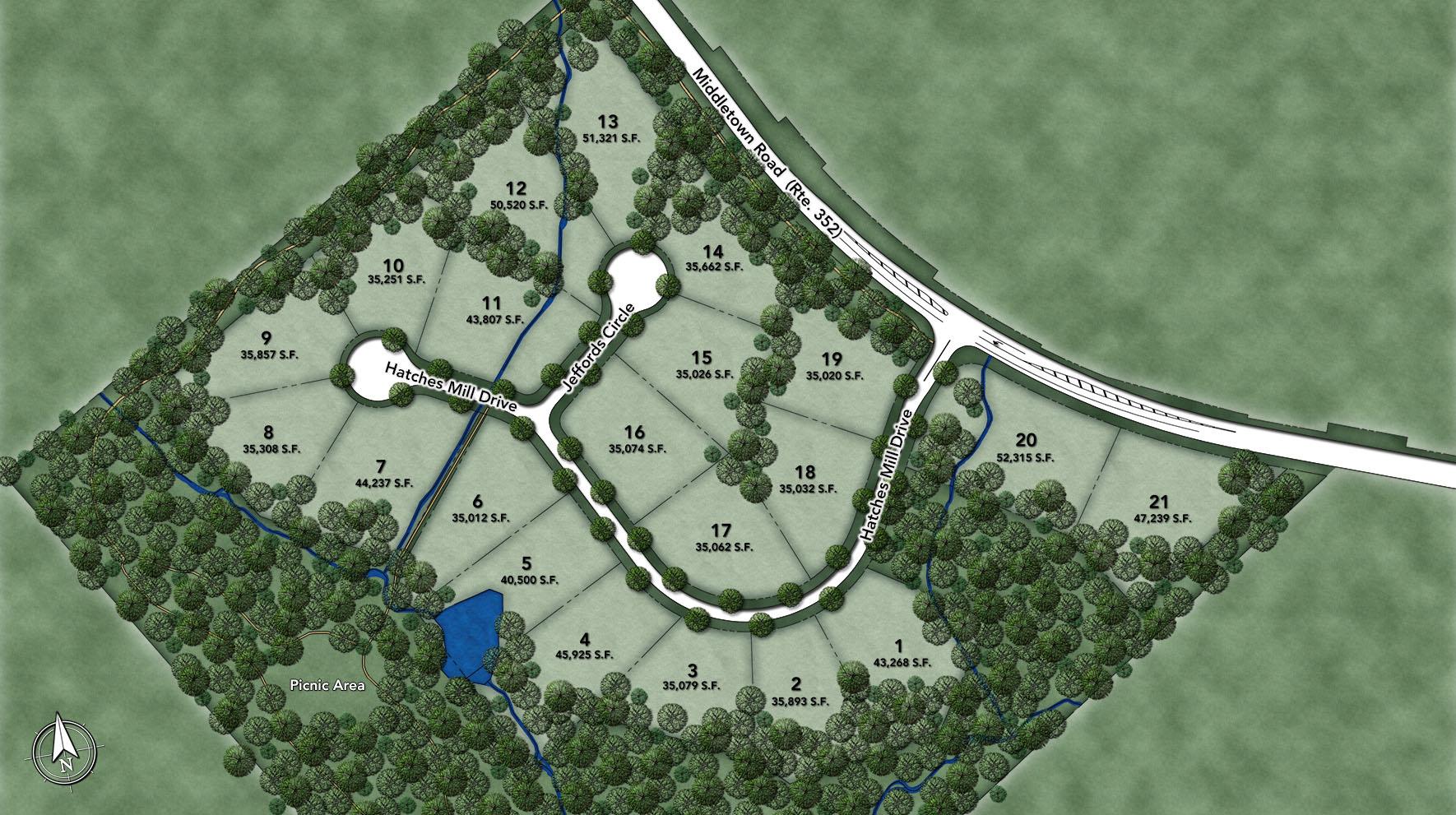 Enclave at Ridley Creek Site Plan