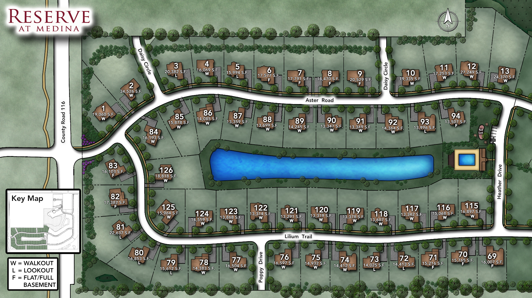 Reserve at Medina Site Plan