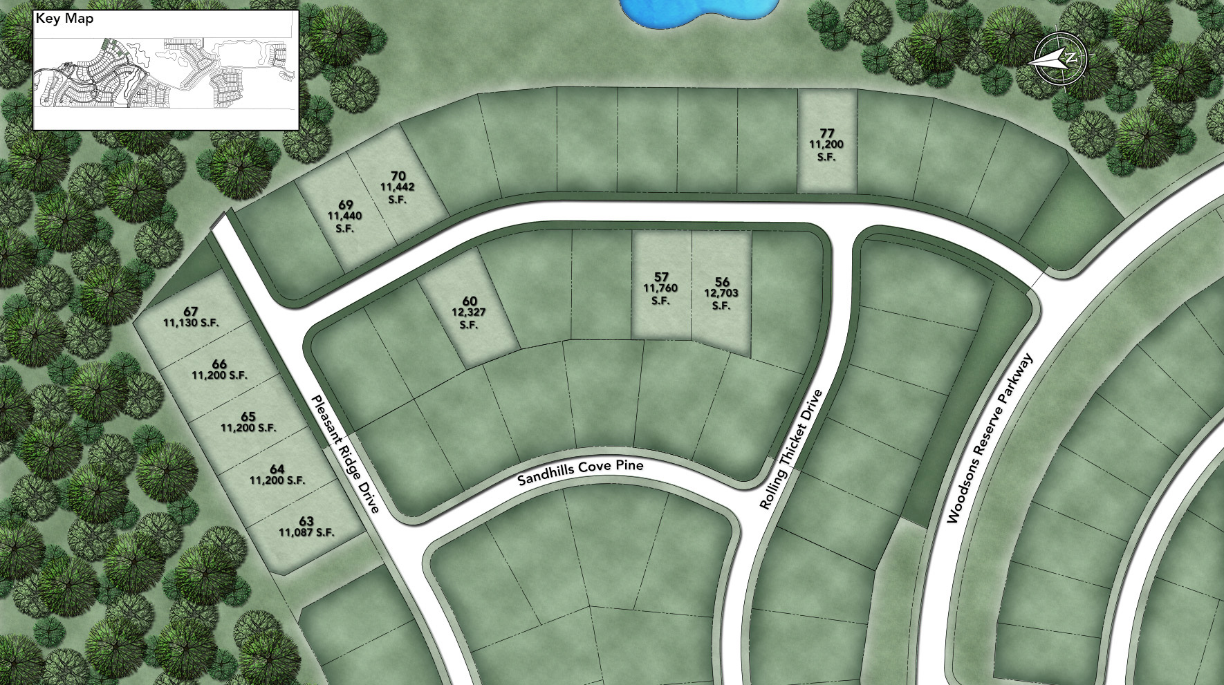 Woodson's Reserve - Estate Collection Site Plan II