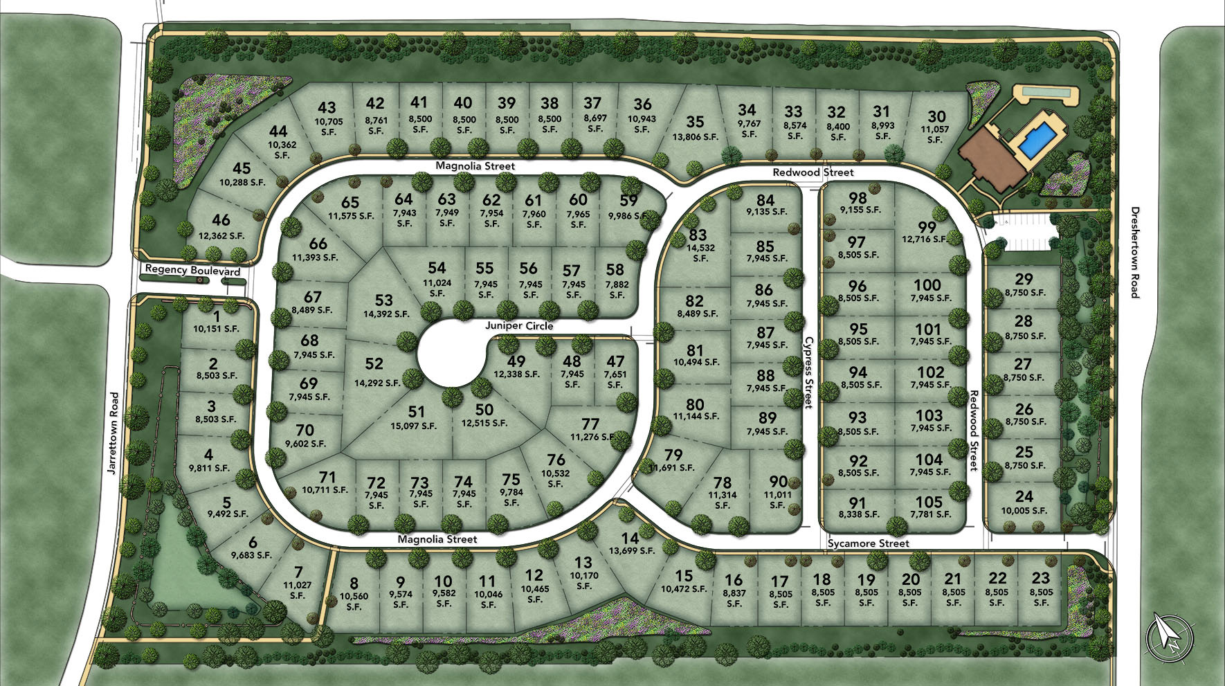 Regency at Upper Dublin Site Plan