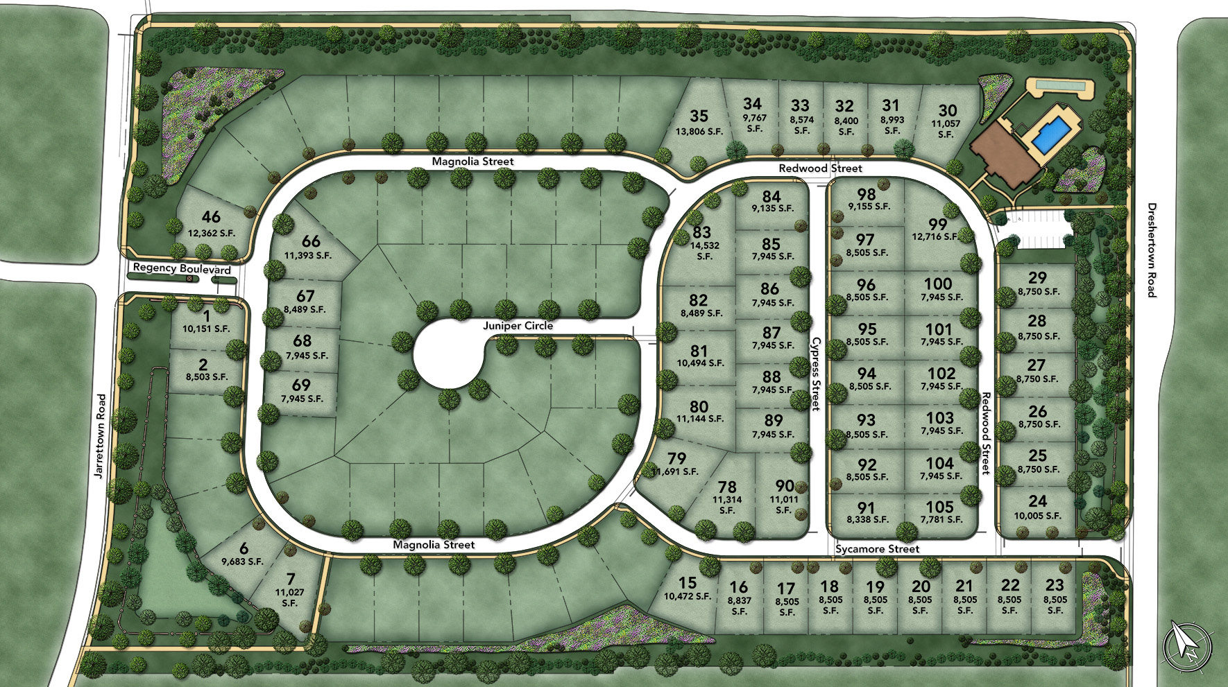 Regency at Upper Dublin Site Plan