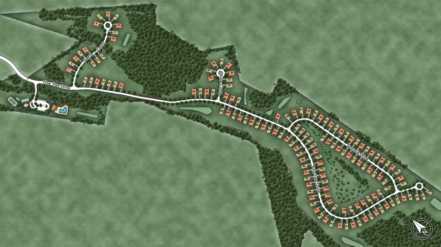 Regency at Emerald Pines Site Plan