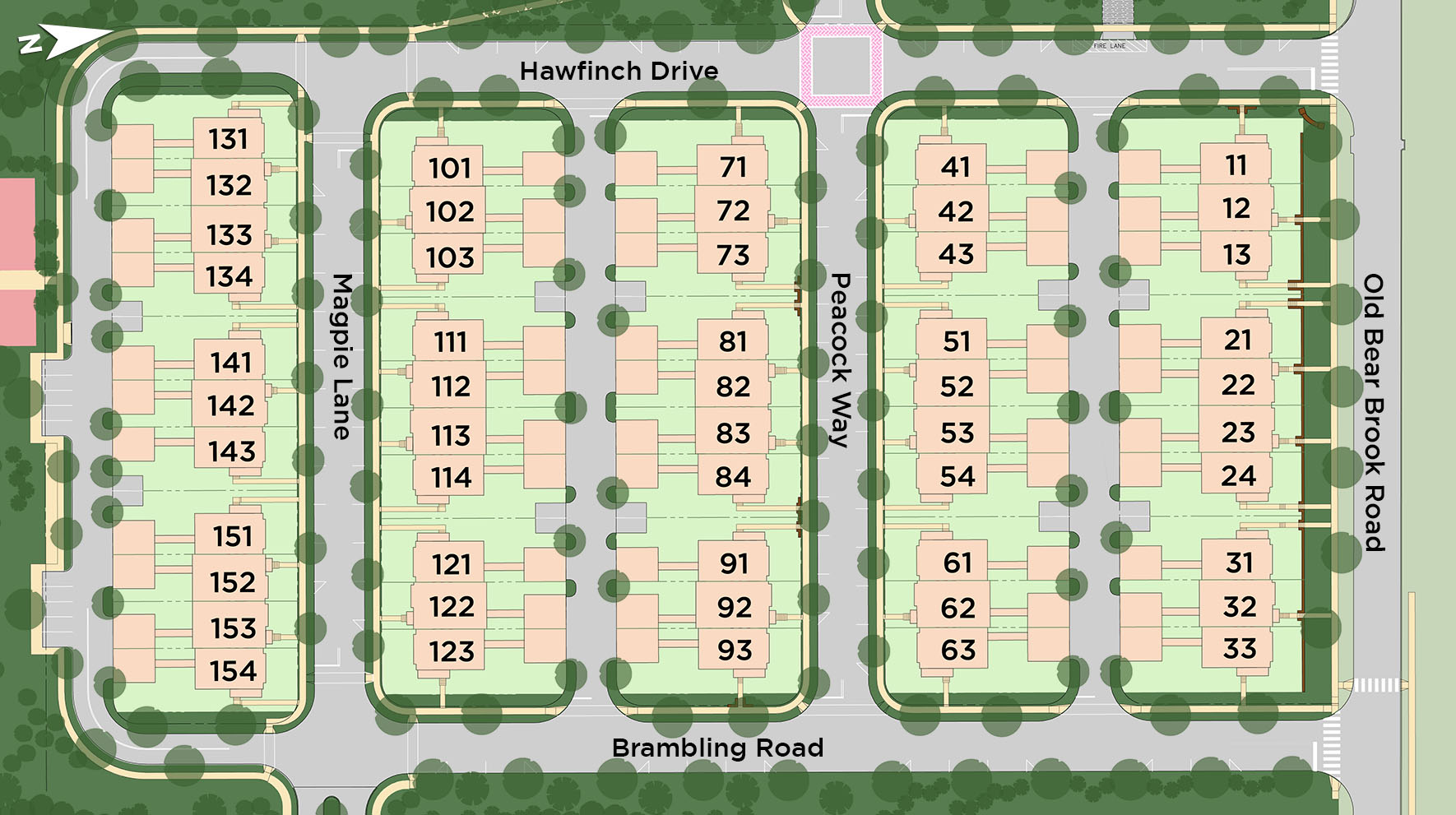 Estates at Princeton Junction Site Plan