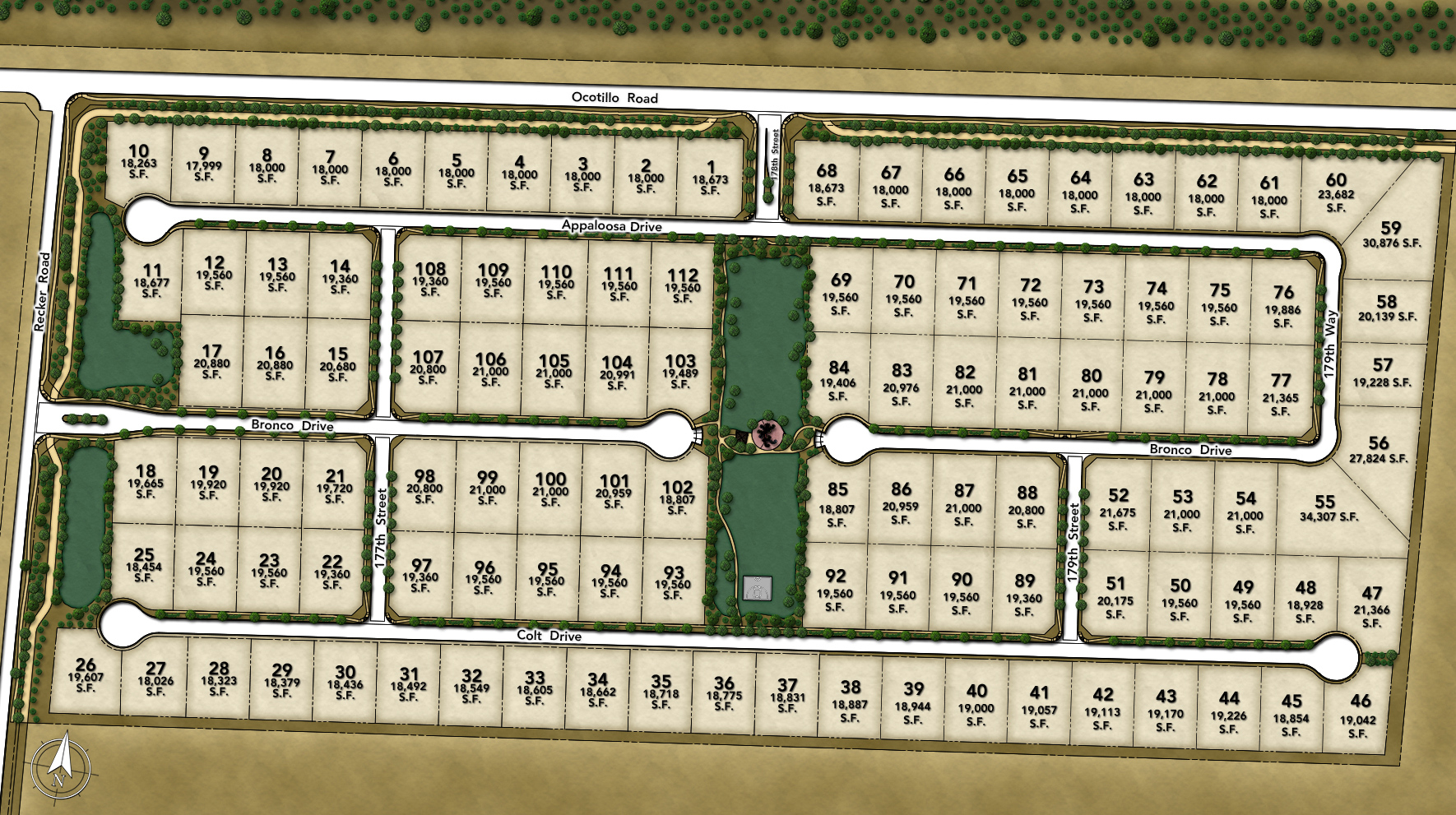 Dorada Estates Site Plan