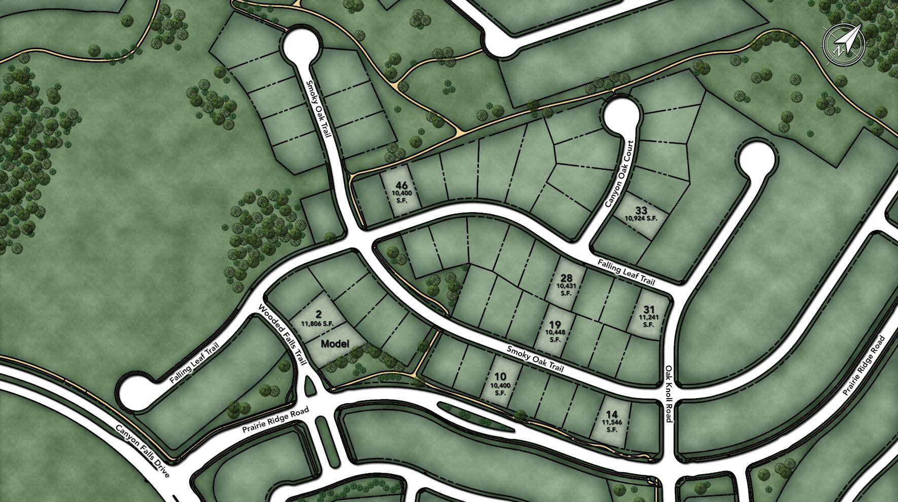 Canyon Falls Site Plan