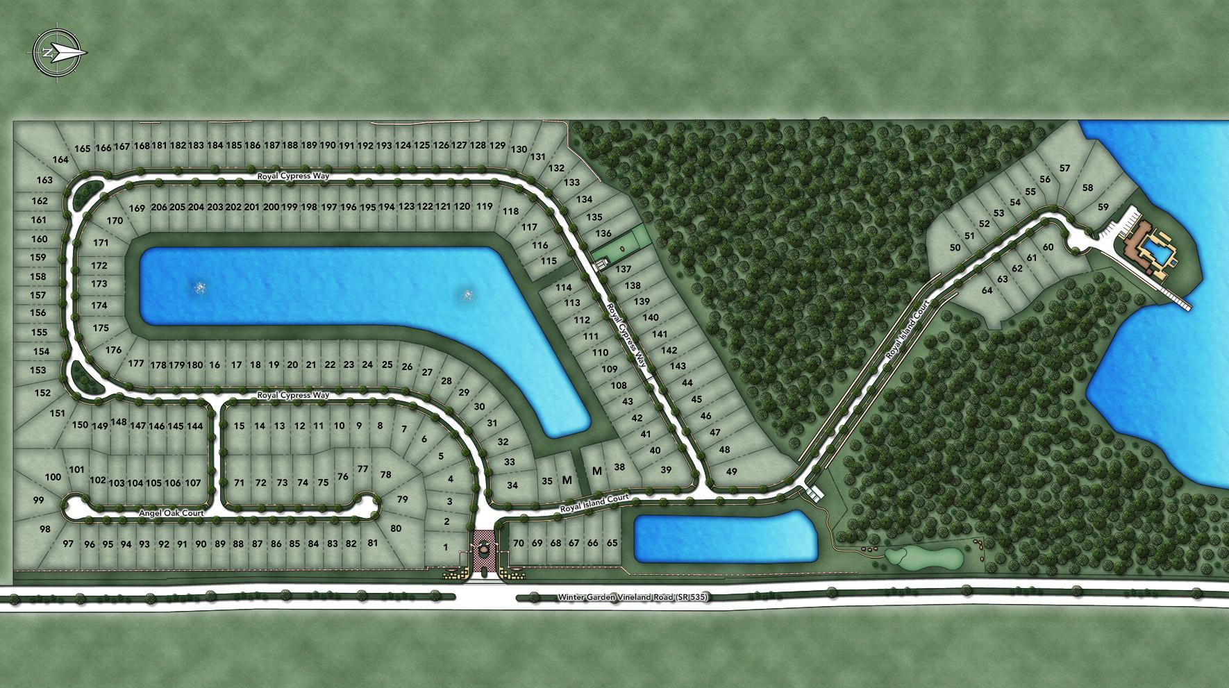 Royal Cypress Preserve Site Plan