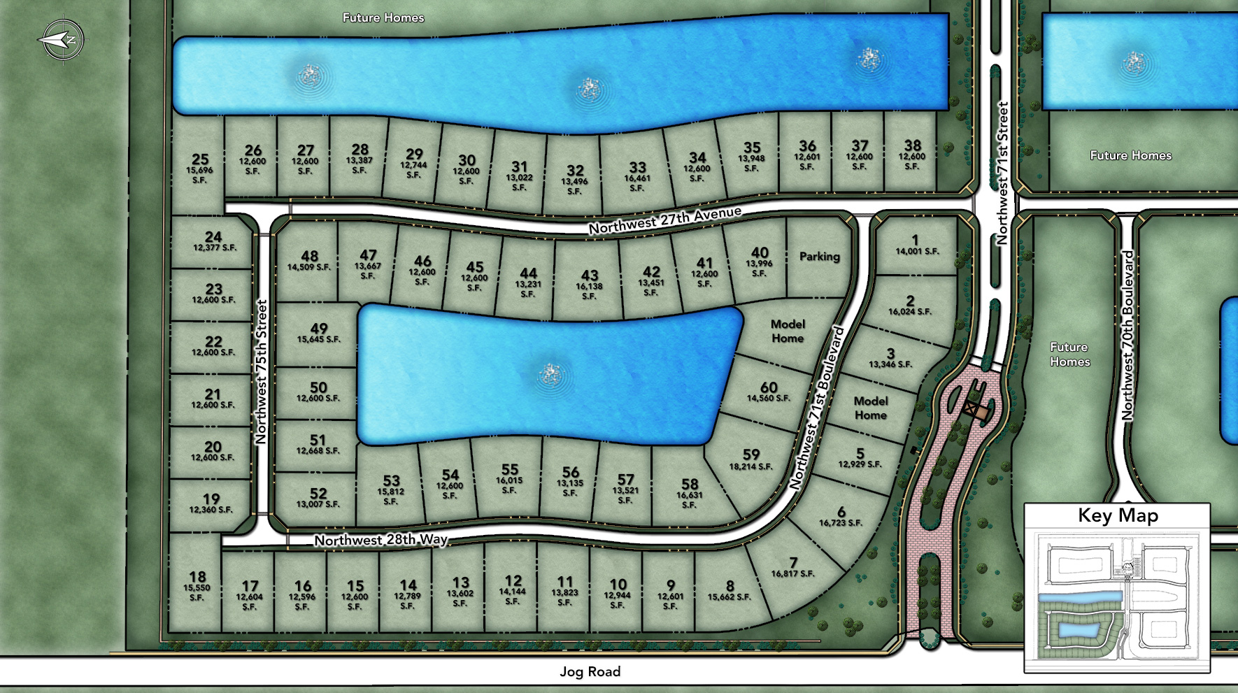 Royal Palm Polo Signature Collection Site Plan