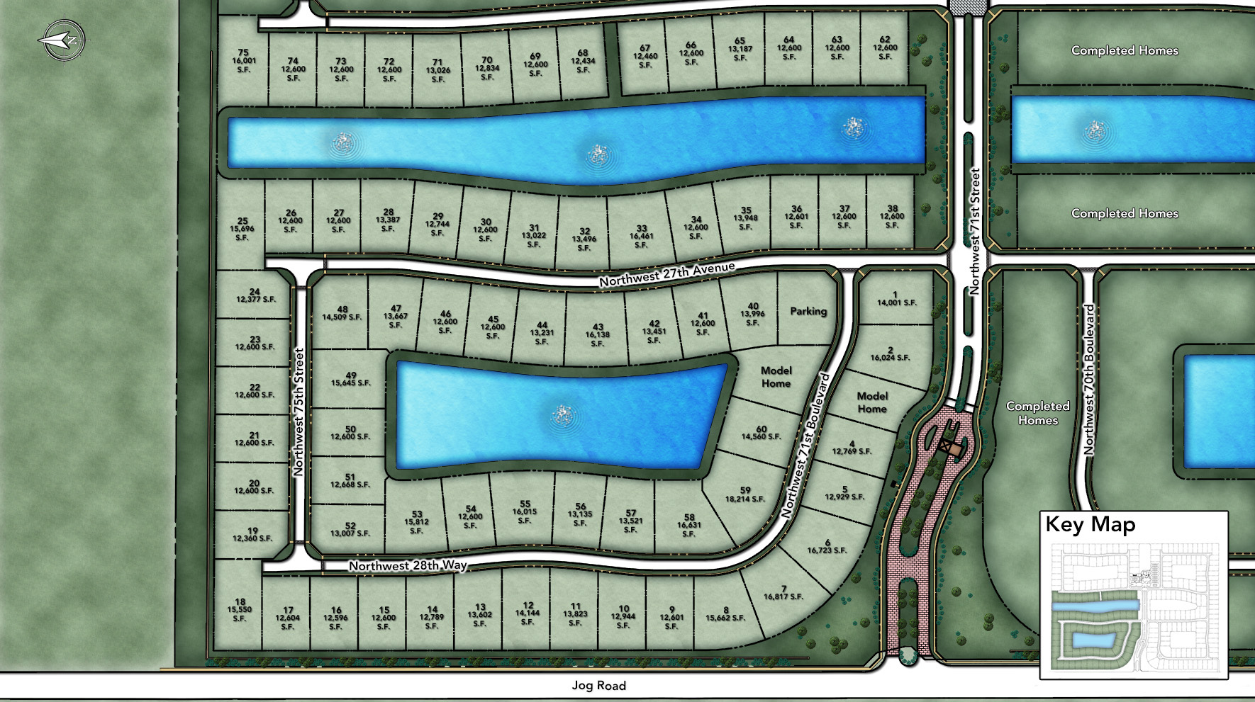 Royal Palm Polo - Signature Collection Site Plan I