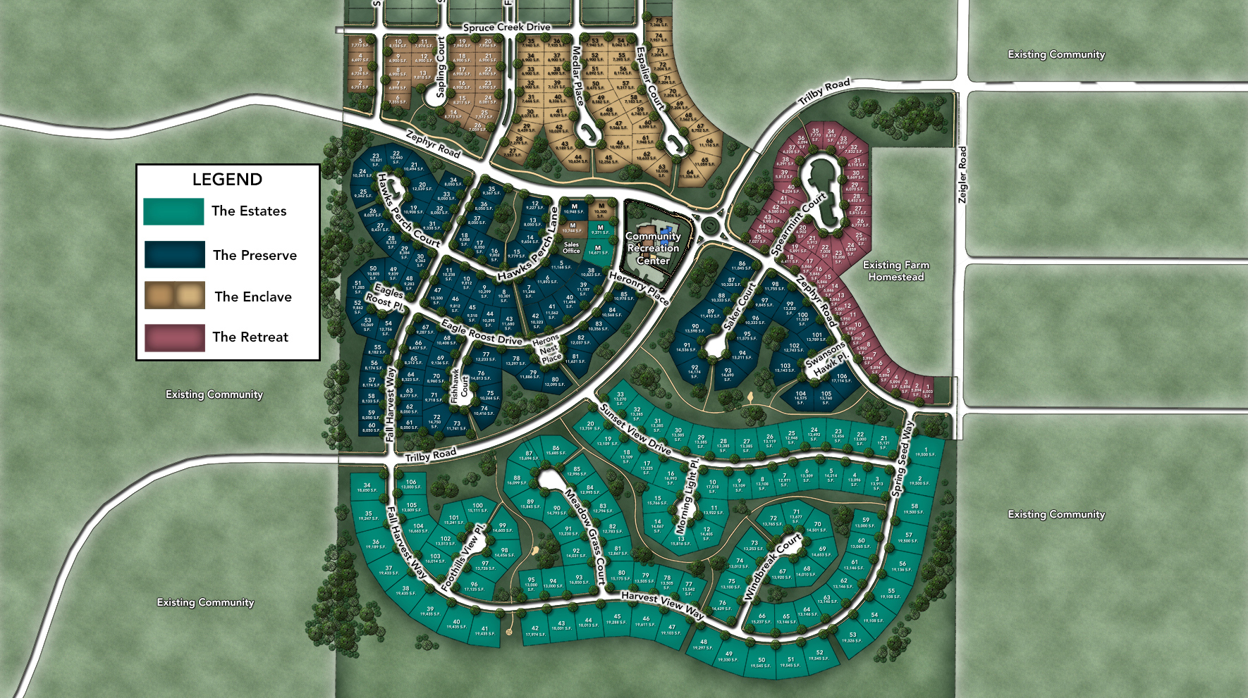 The Retreat at Kechter Farm Site Plan