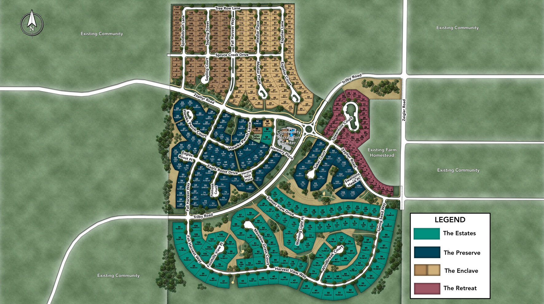 The Estates at Kechter Farm Site Plan