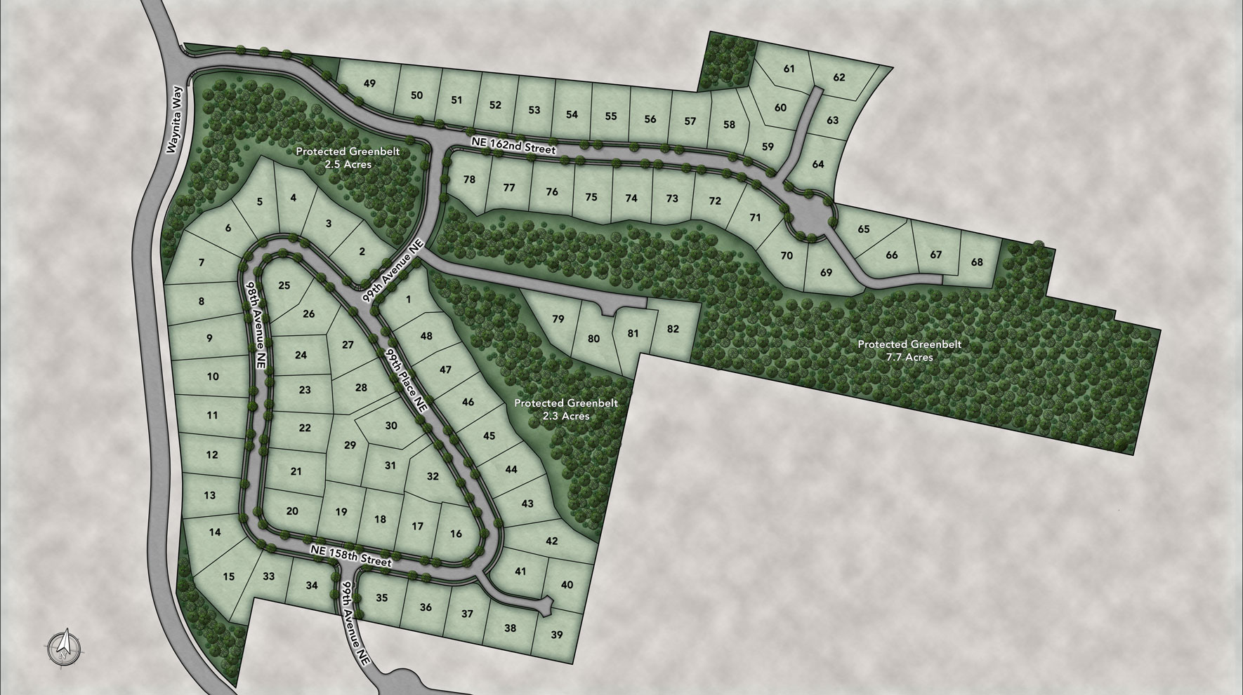 Pipers Glen Site Plan