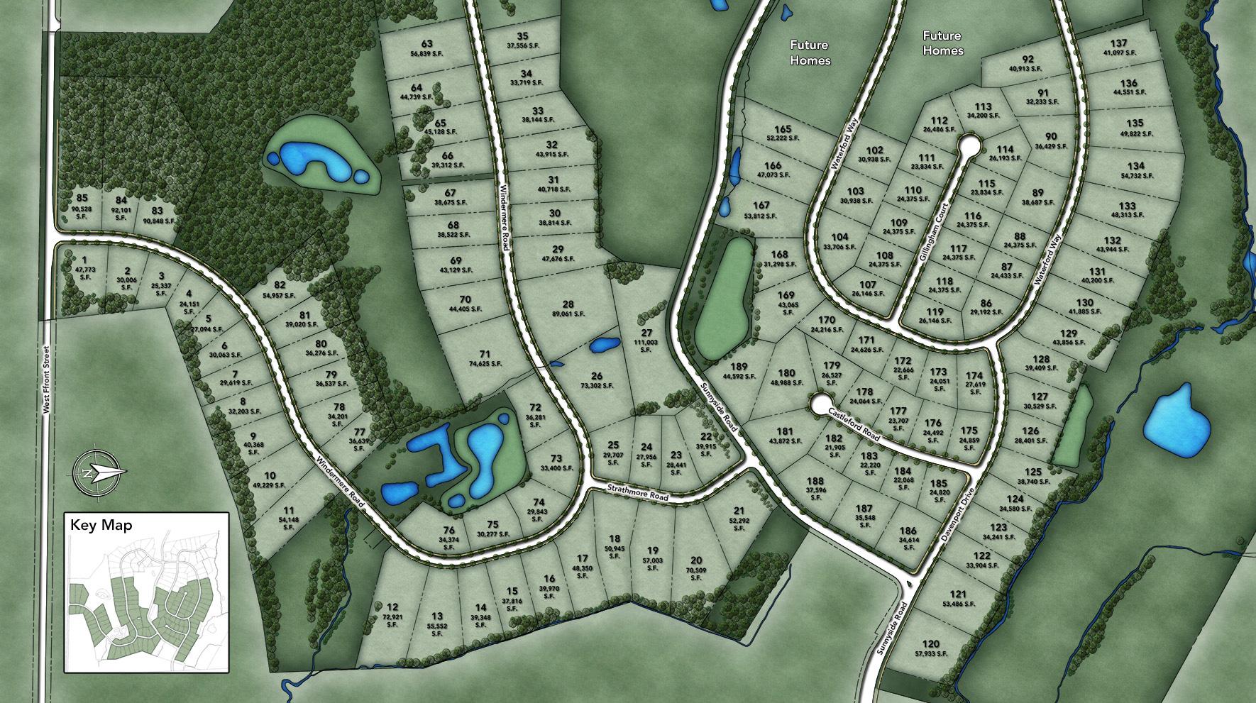 Estates at Bamm Hollow Site Plan