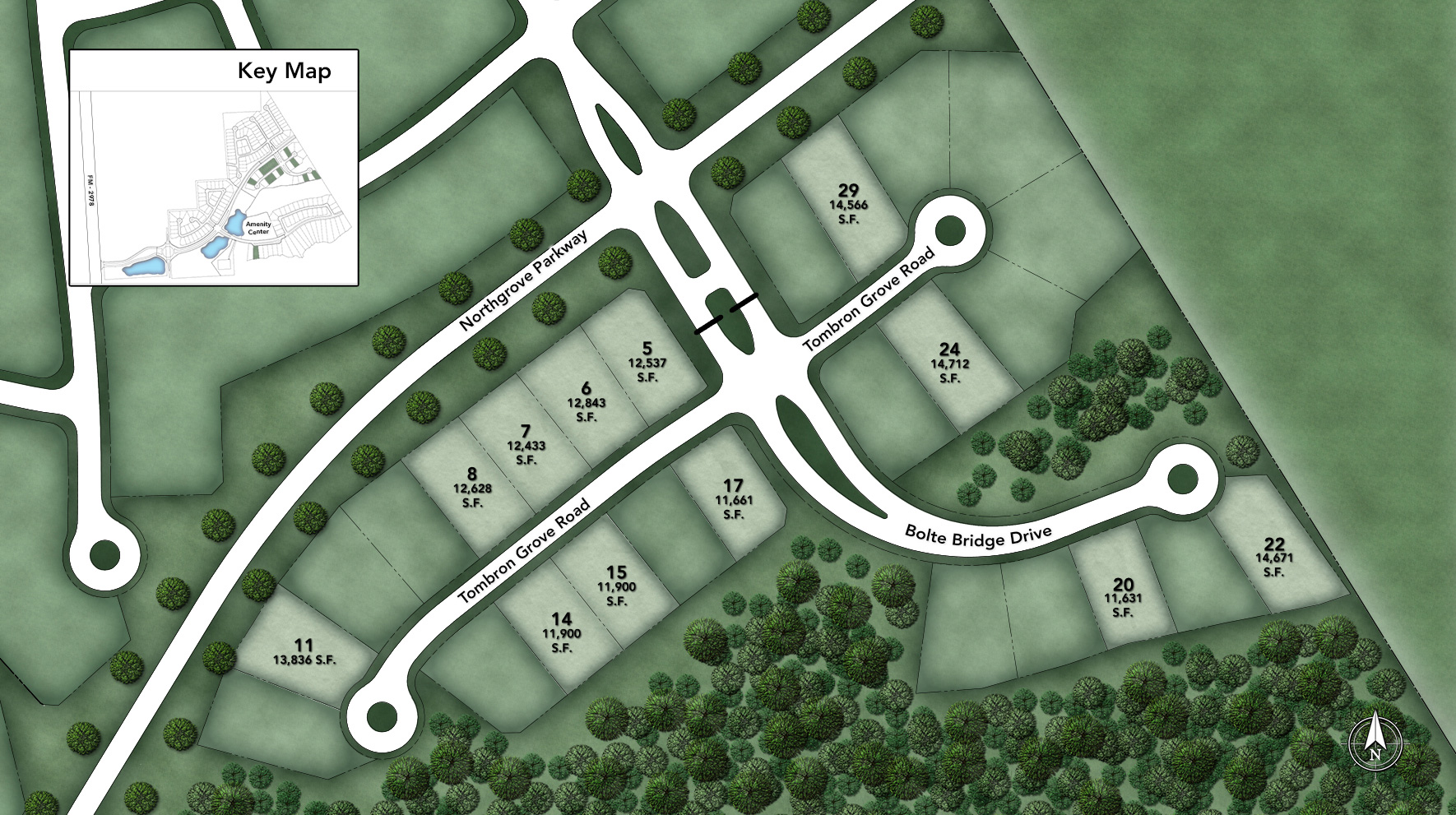 NorthGrove - Estate Collection Site Plan I