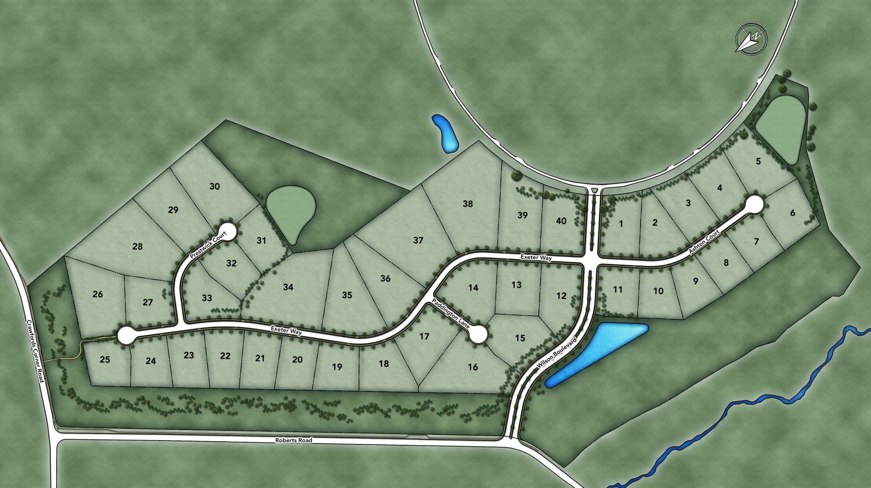 Reserve at Holmdel Site Plan