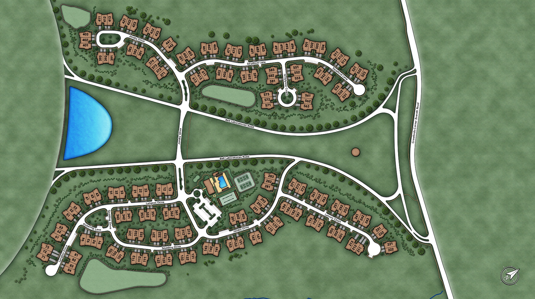 Regency at Holmdel Overall Site Plan