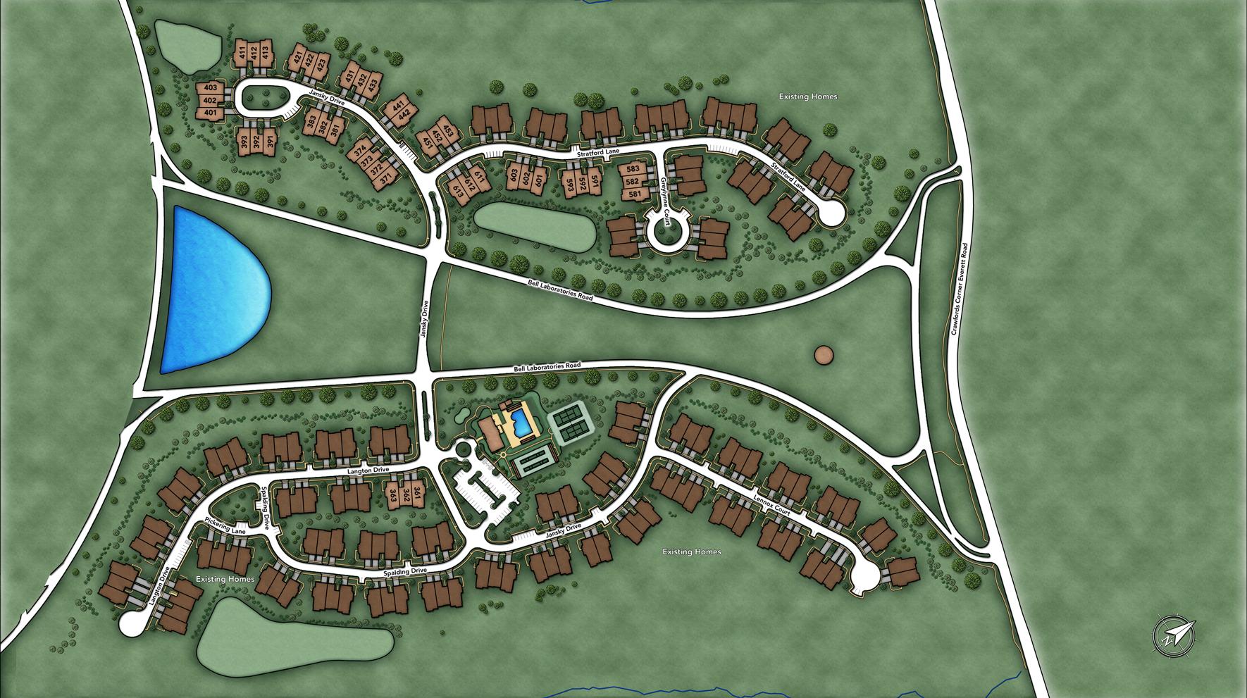 Regency at Holmdel Site Plan