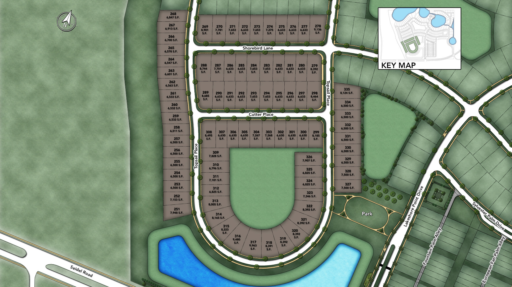 Lakeshore - Executives Collection Site Plan I
