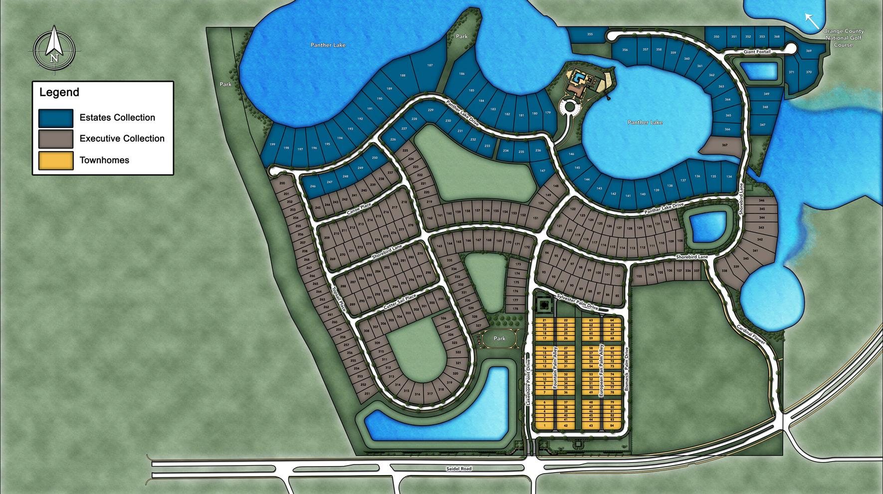Lakeshore - Executive Collection Site Plan I