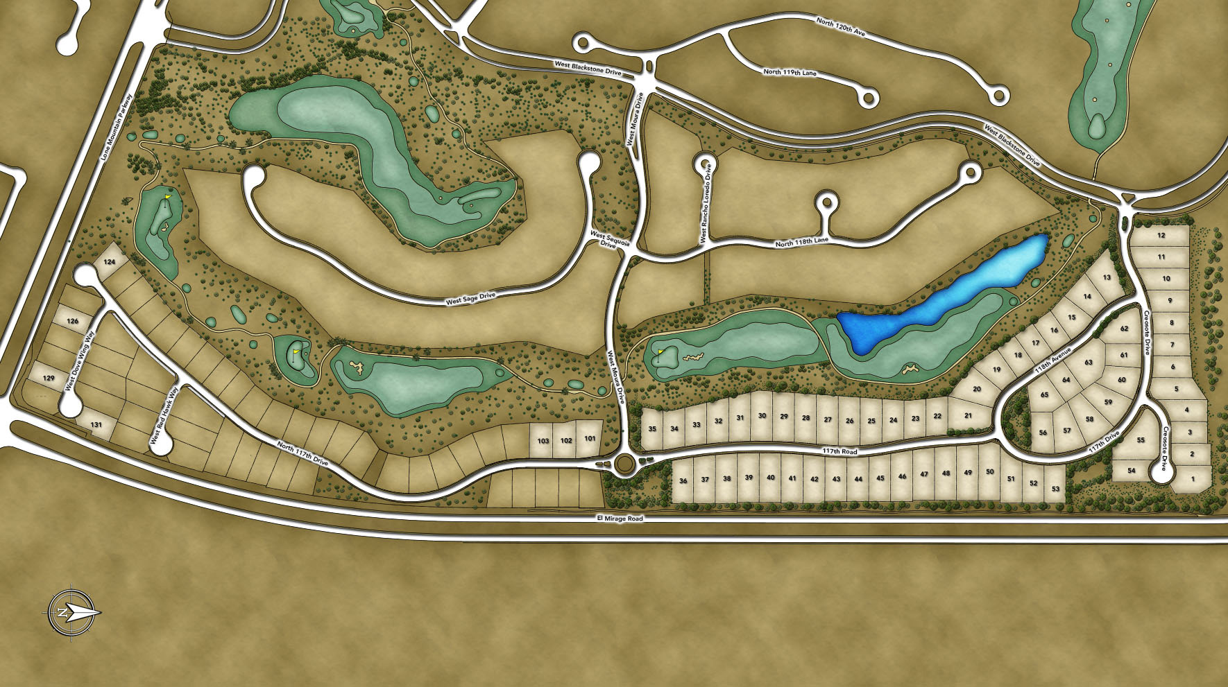 Toll Brothers at Blackstone - The Blackstone Collection Site Plan