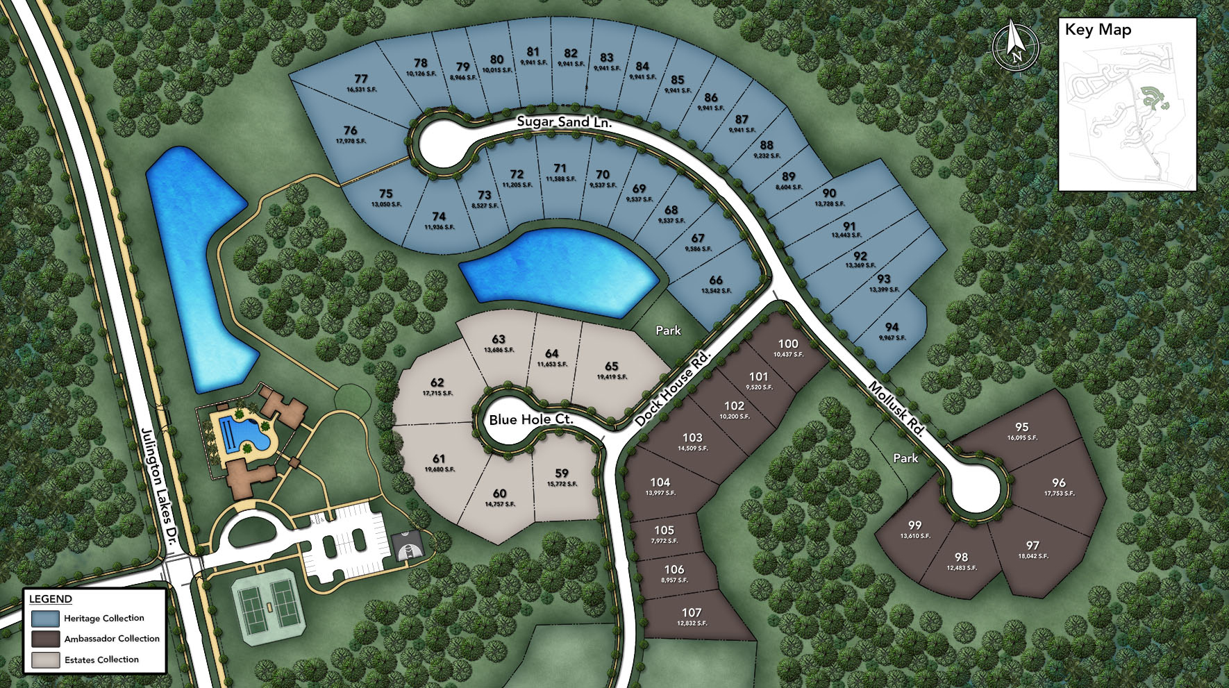 Julington Lakes - Ambassador Collection Site Plan II