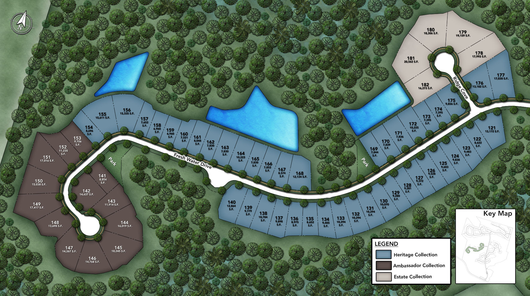 Julington Lakes - Ambassador Collection Site Plan III